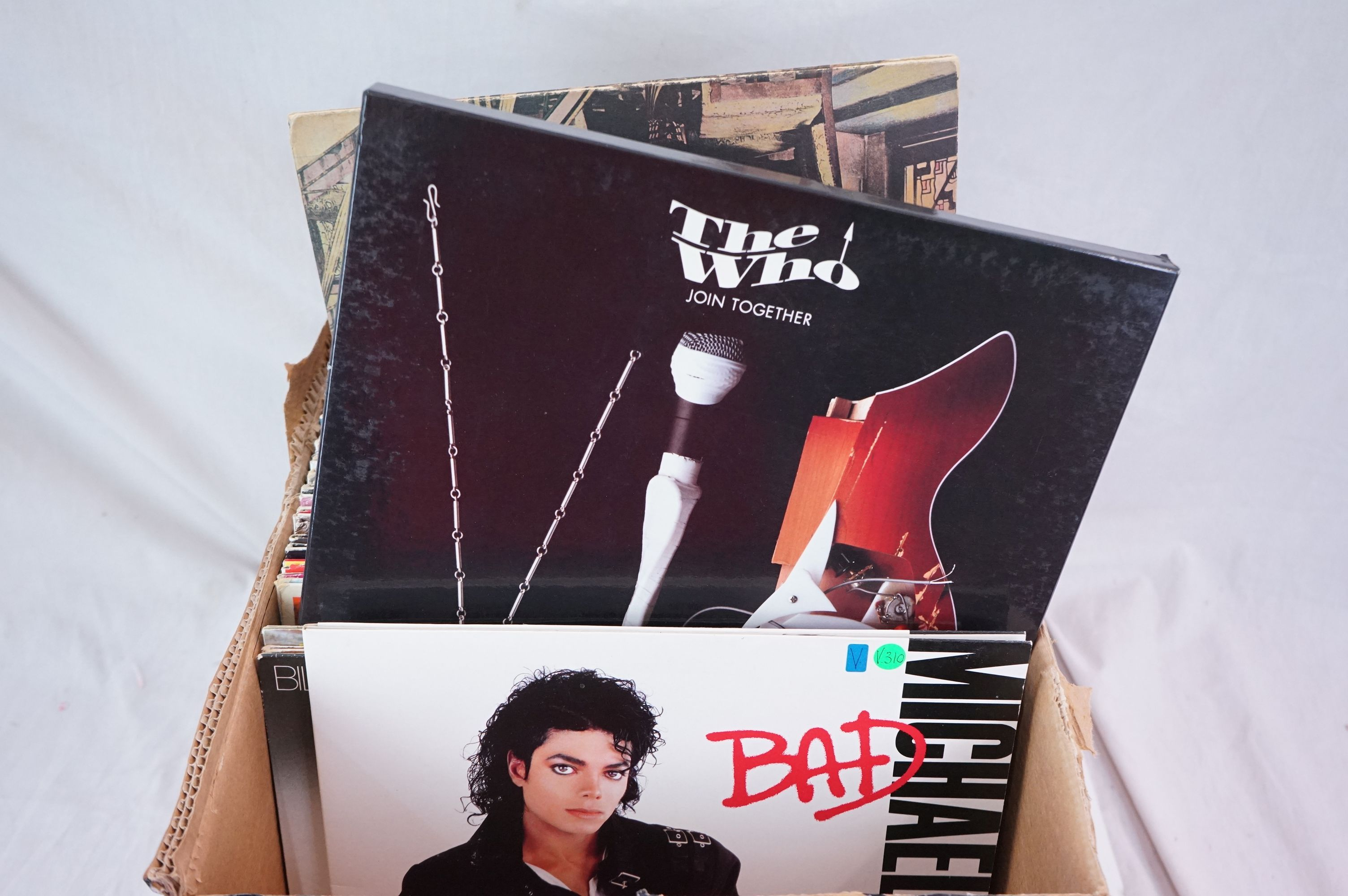 """Vinyl - Around 80 LPs and 12"""" single (mainly LPs) featuring Rock and Pop to include Blondie, Bon - Image 2 of 6"""