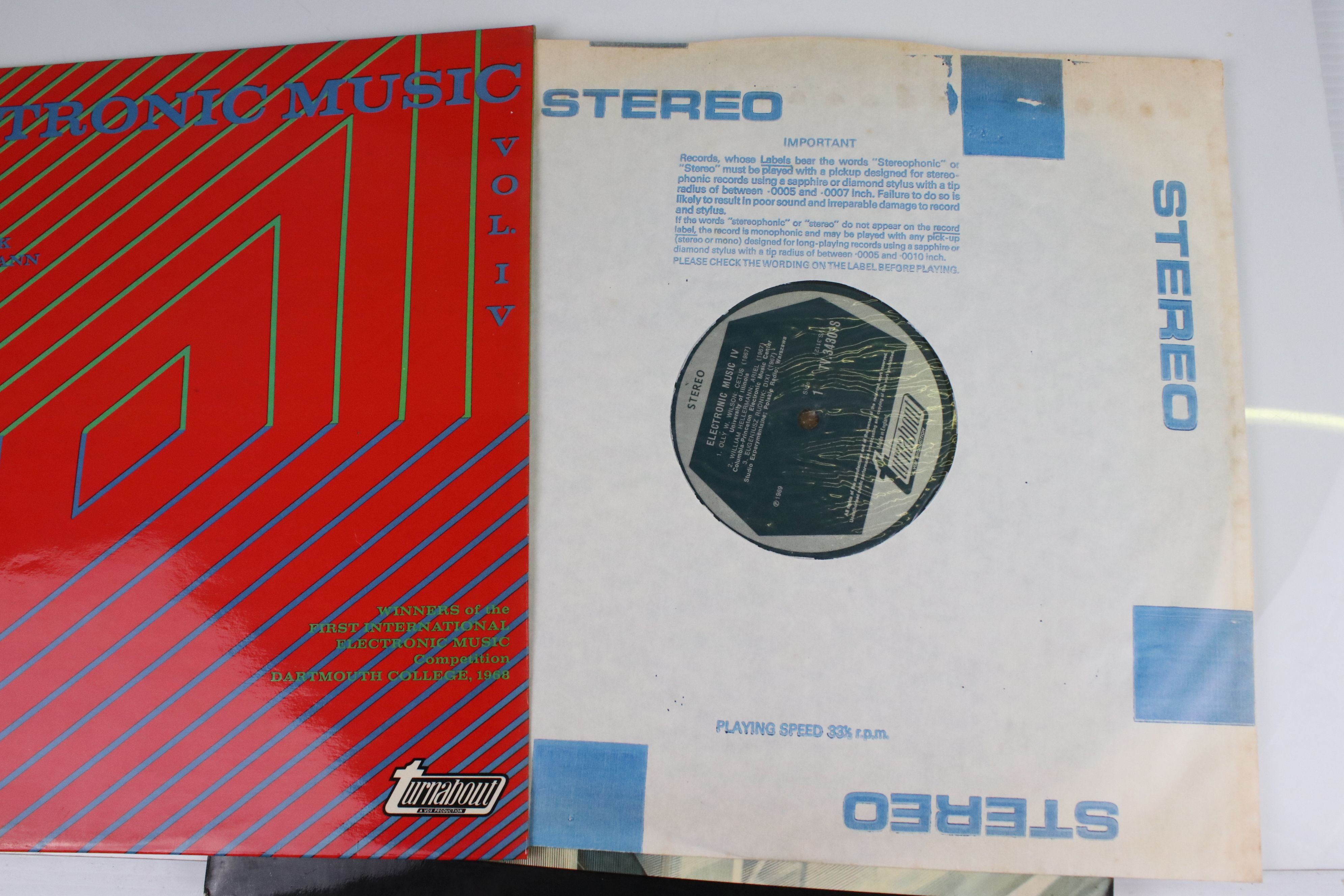 Vinyl - Four Electronic Classical LPs to include Terry Riley In C, Philip Glass Koyaanisqqatsi, - Image 3 of 6