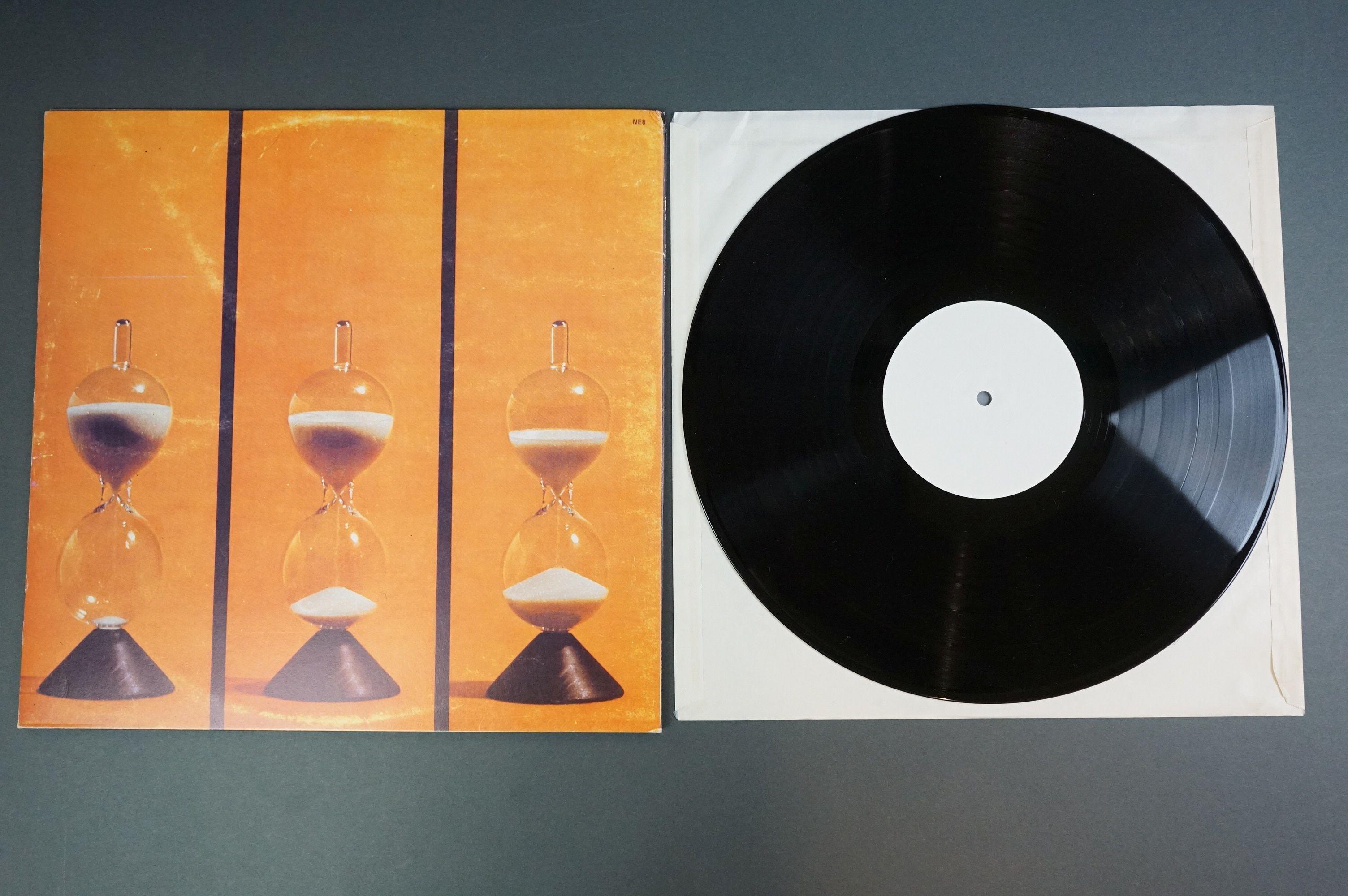 Vinyl - Two unofficial Raw Materials release LPs to include Time Is (NE8) and self titled (Z1006), - Image 3 of 6
