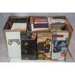 CD Box Sets - Around 40 Box Sets to include Folk, Country, Jazz, Pop etc featuring Willie Nelson,