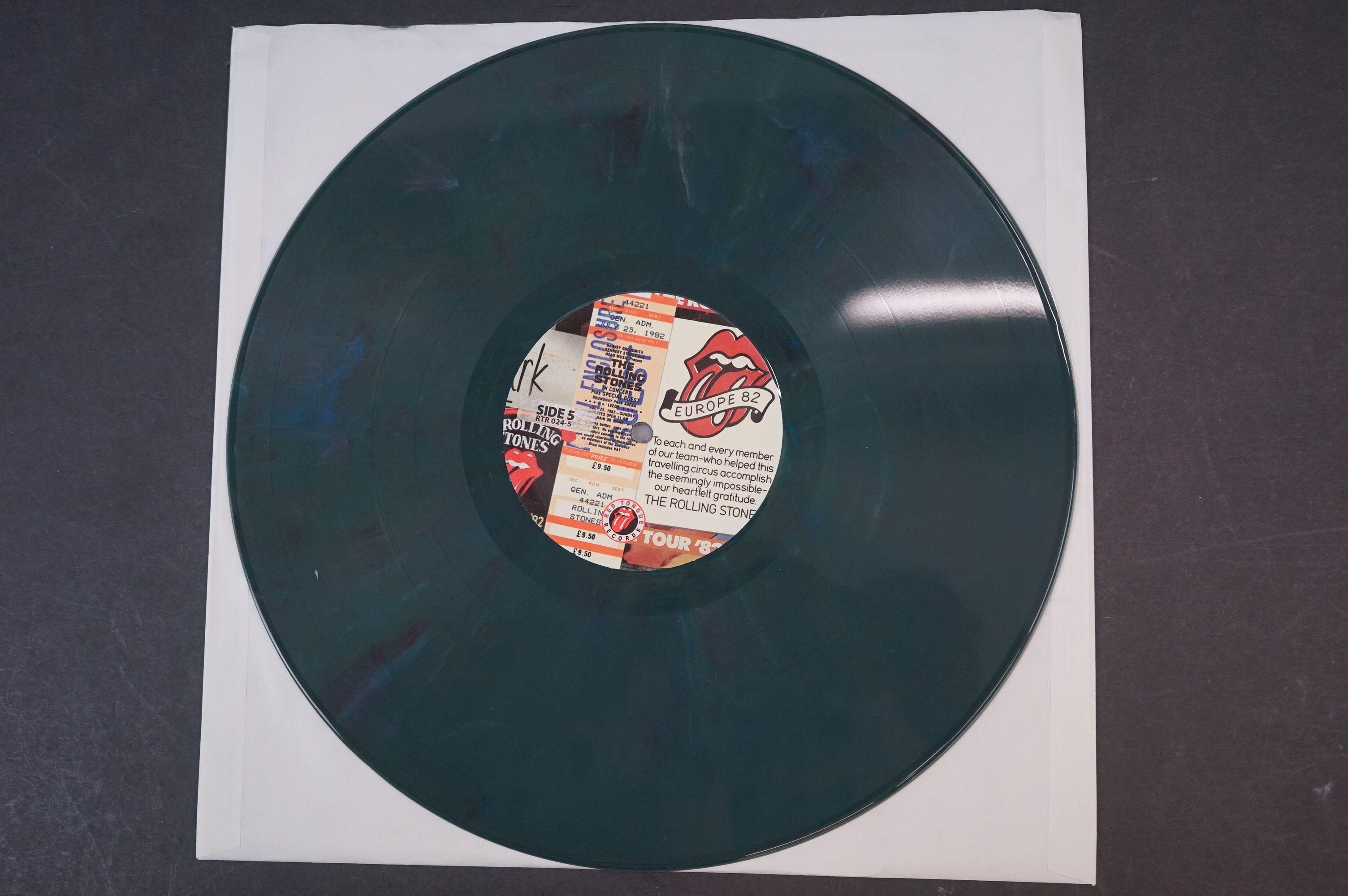 Vinyl - ltd edn The Real Alternate Album Rolling Stones Leeds July 25 1982 3 LP / 2 CD Box Set RTR - Image 7 of 10
