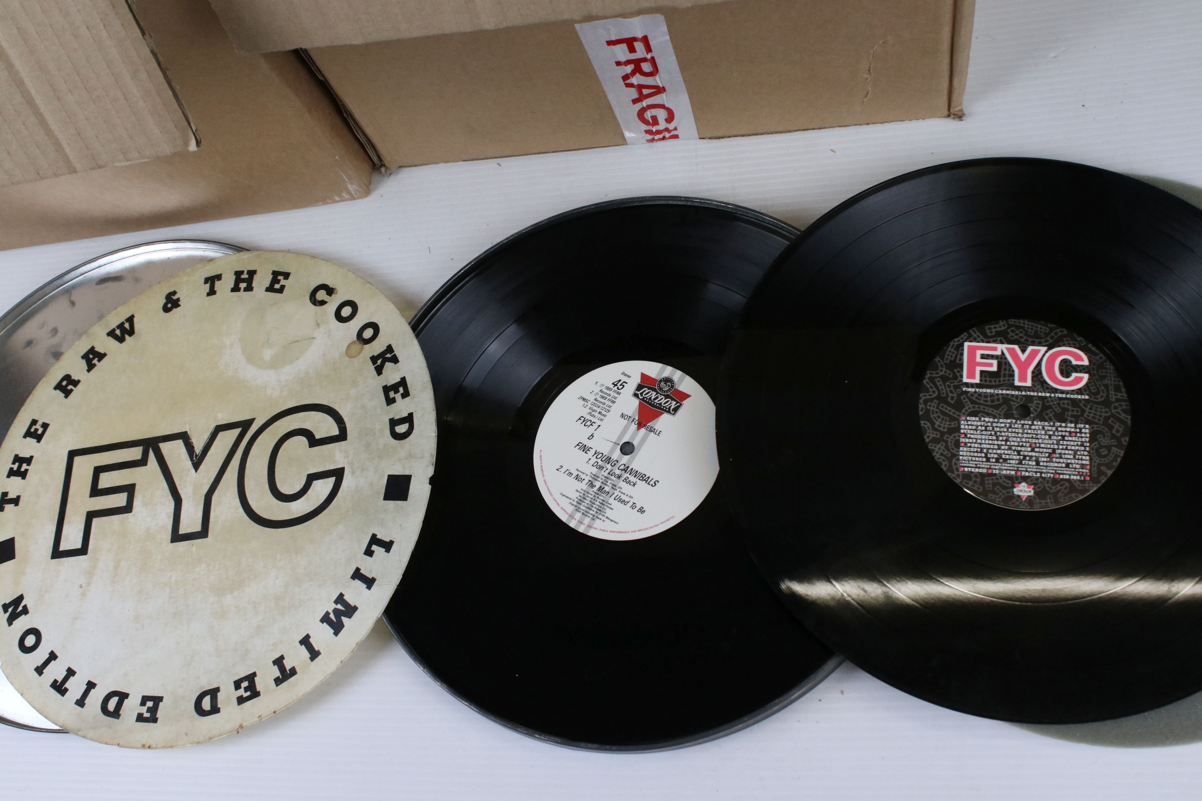 Vinyl - Approx 150 Rock & Pop LP's including Elton John, Fine Young Cannibals, Roxy Music, Sad Cafe, - Image 4 of 5