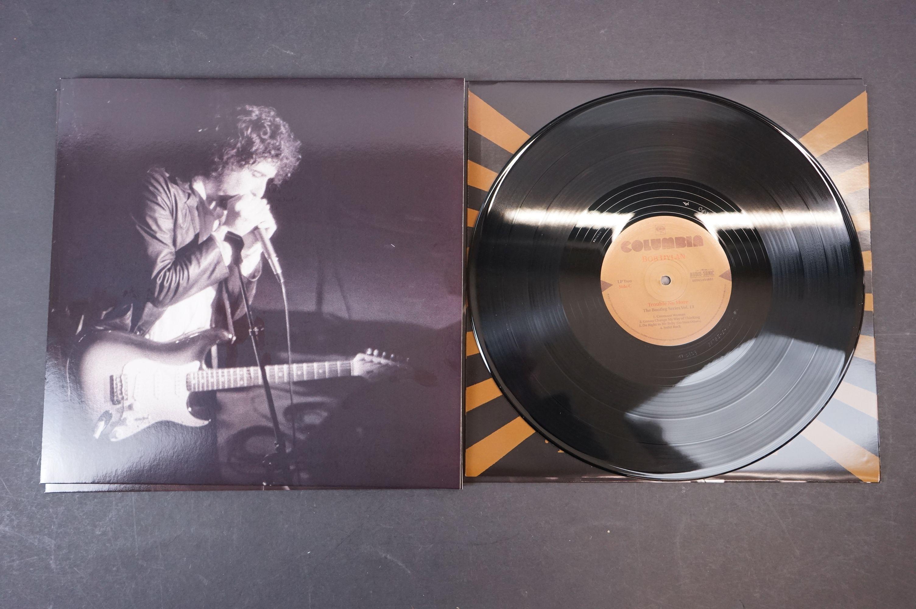 Vinyl - Bob Dylan Trouble No More The Bootleg Series vol 13 1979-1981 4 LP Box Set, ex - Image 6 of 9