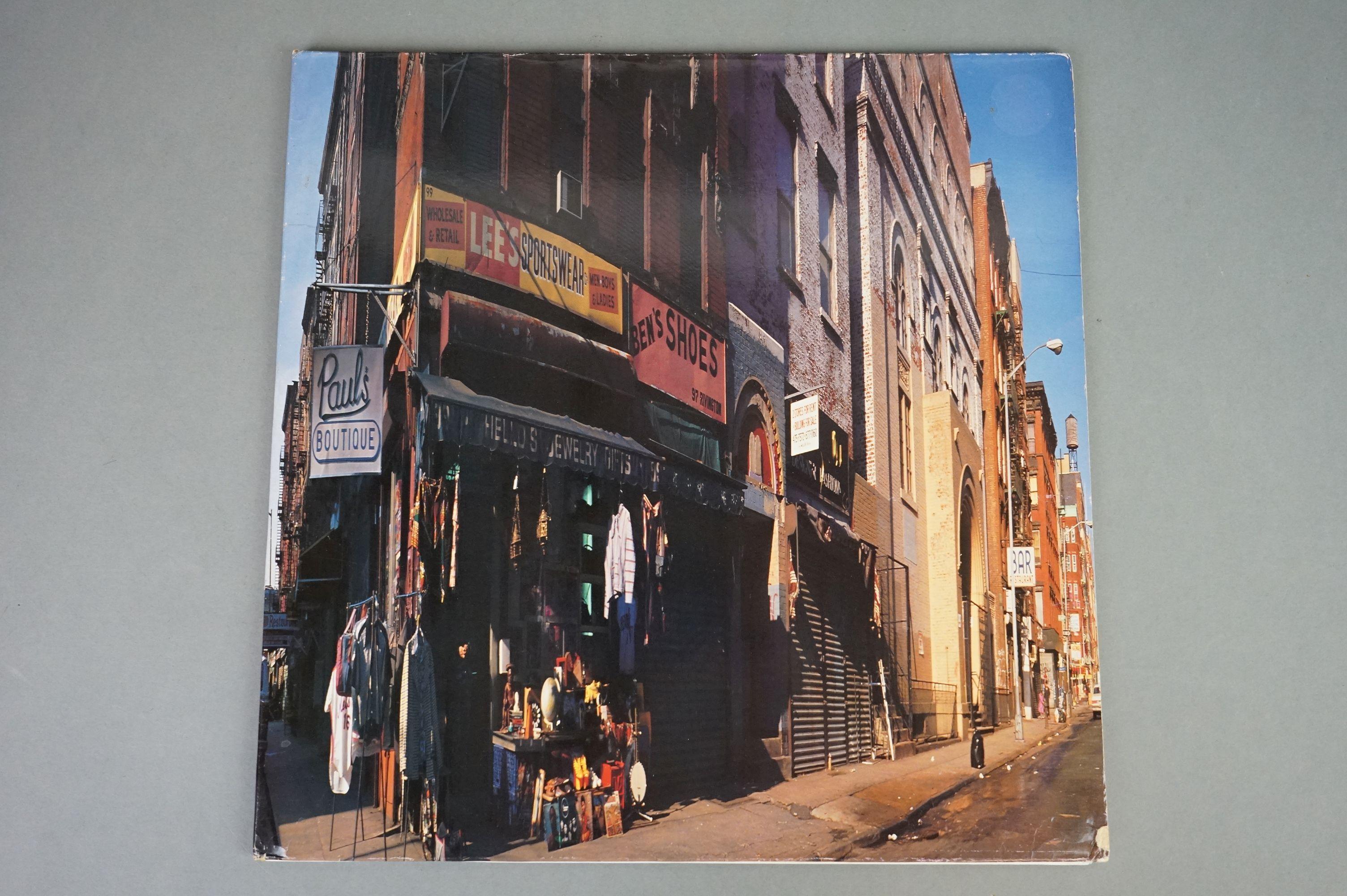 Vinyl - Beastie Boys Paul's Boutique LP on Capitol UK 077779174317 UKEST2102 with 'promotional