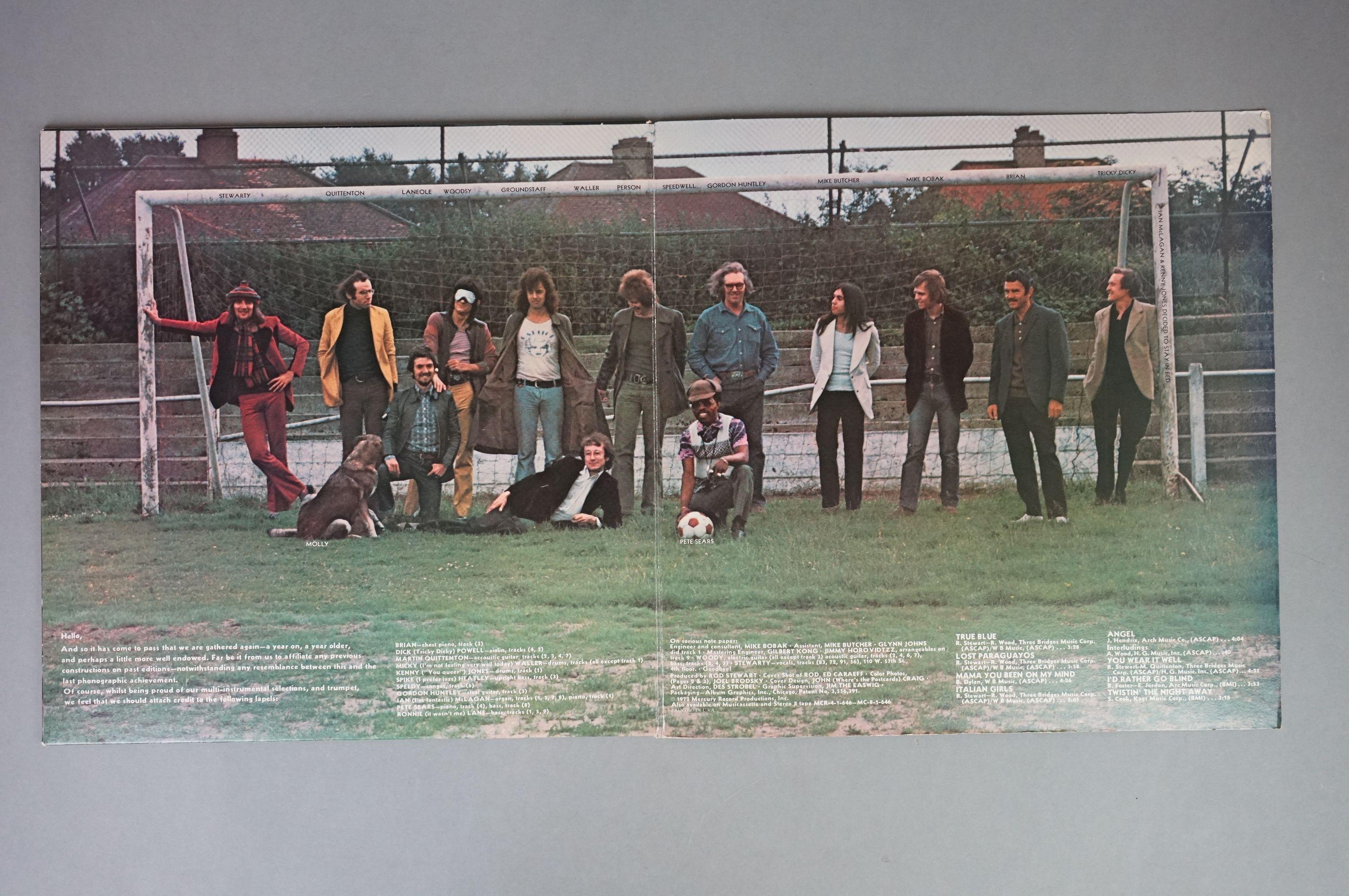 Vinyl - Rod Stewart 4 LP's to include An Old Raincoat Won't Ever Let You Down (Vertigo VO4) gatefold - Image 5 of 14