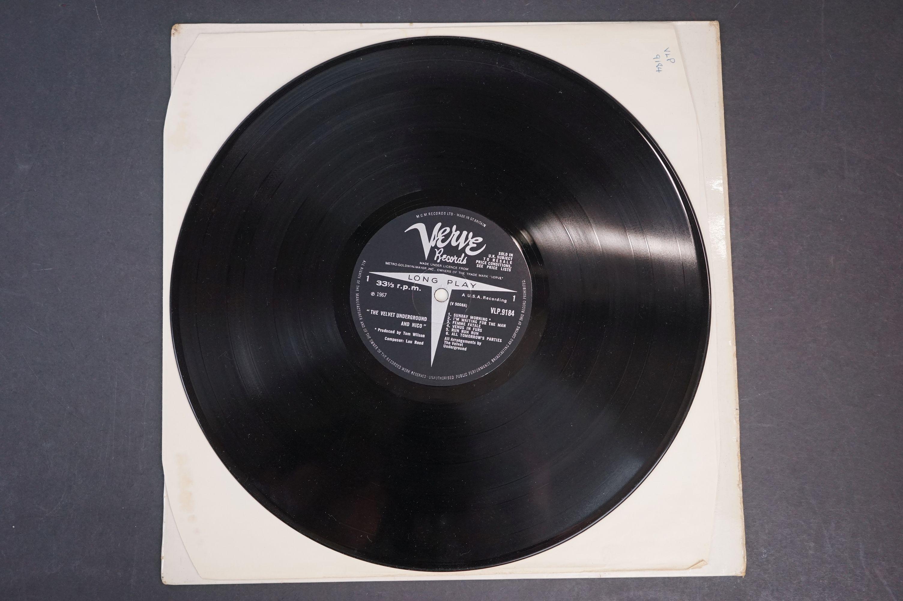 Vinyl - The Velvet Underground & Nico produced by Andy Warhol LP on Verve VLP9184 mono, non banana - Image 2 of 5