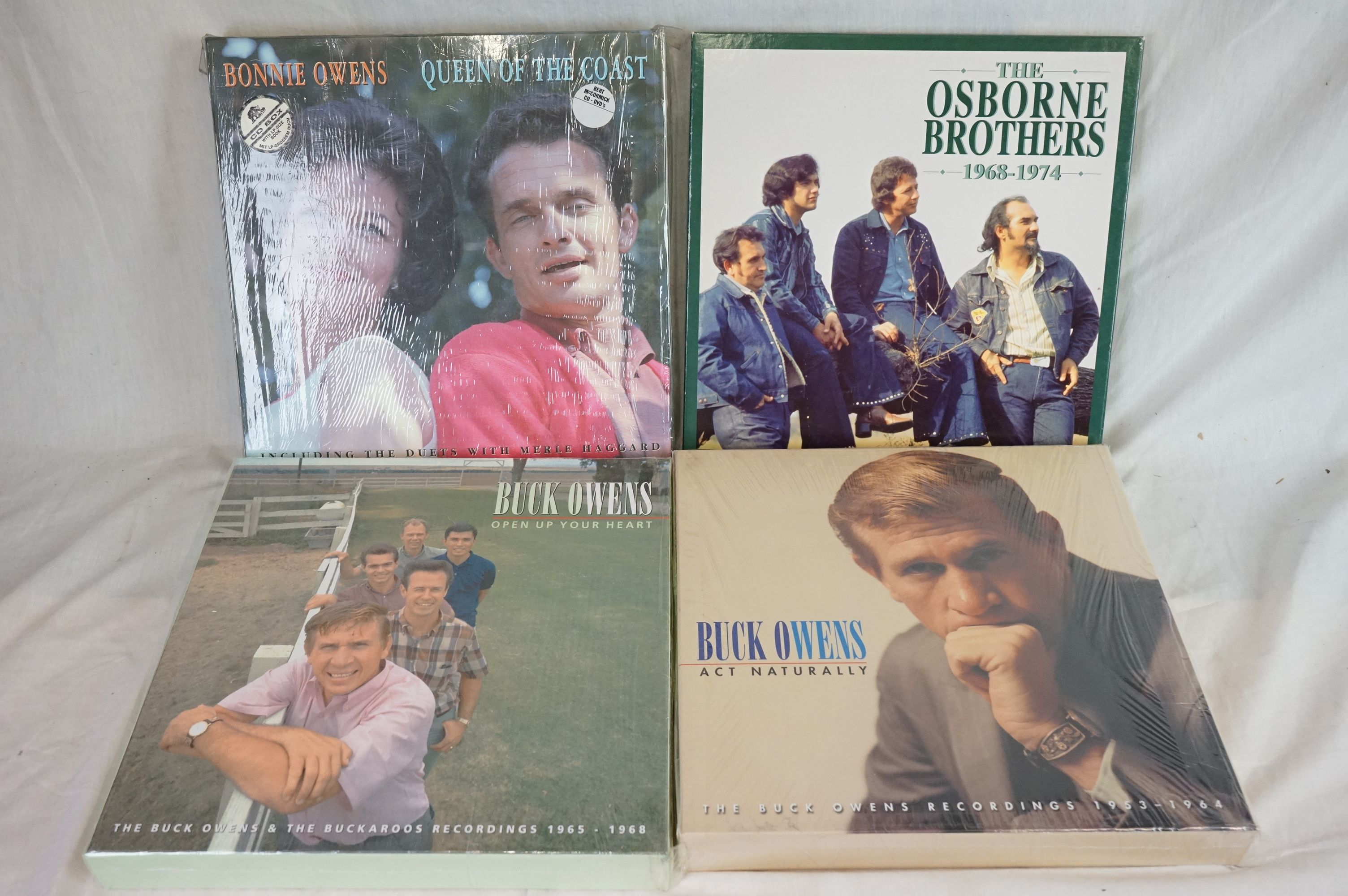Box Sets - 13 Box Sets to include Cliff Bruner, Fats Domino, The Kingston Trio, The Blue Sky Boys - Image 3 of 3