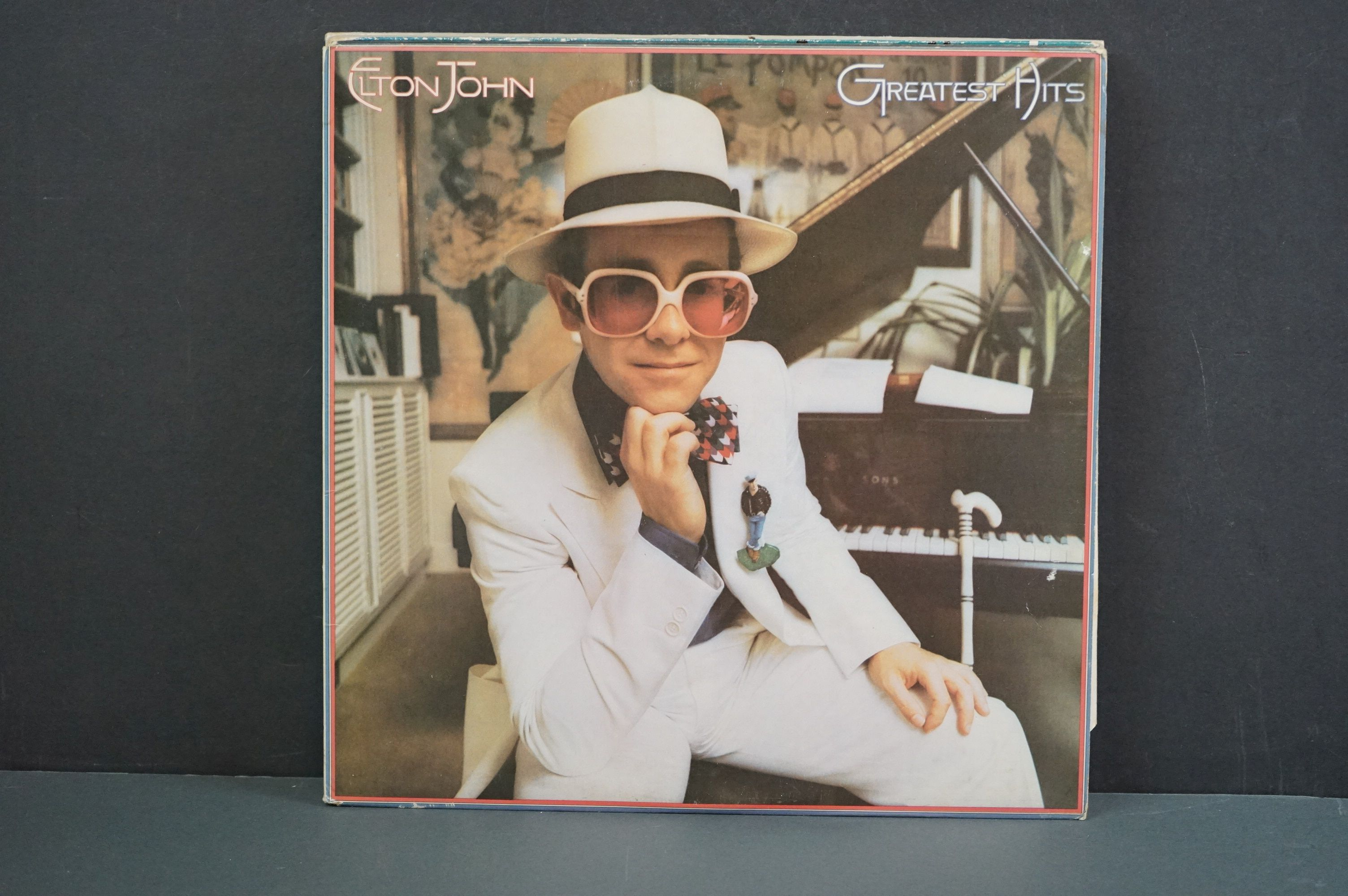 Vinyl - 16 Elton John LPs to include A Single Man, Blue Moves, Greatest Hits, Goodbye Yellow Brick - Image 11 of 16