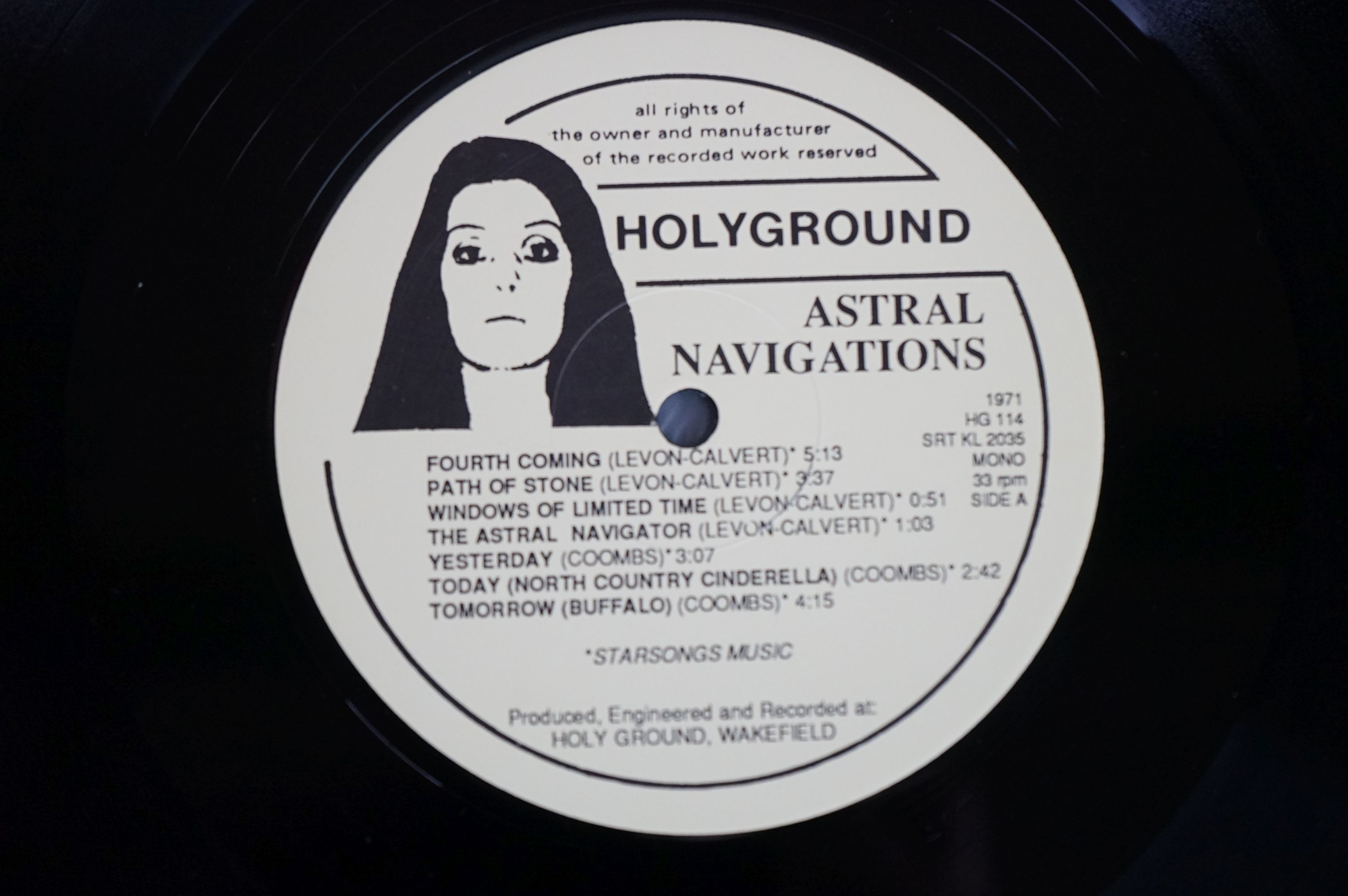 Vinyl - Lightyears Away / Thundermother ?? Astral Navigations (HG 114) numbered Ltd Edition - Image 4 of 12
