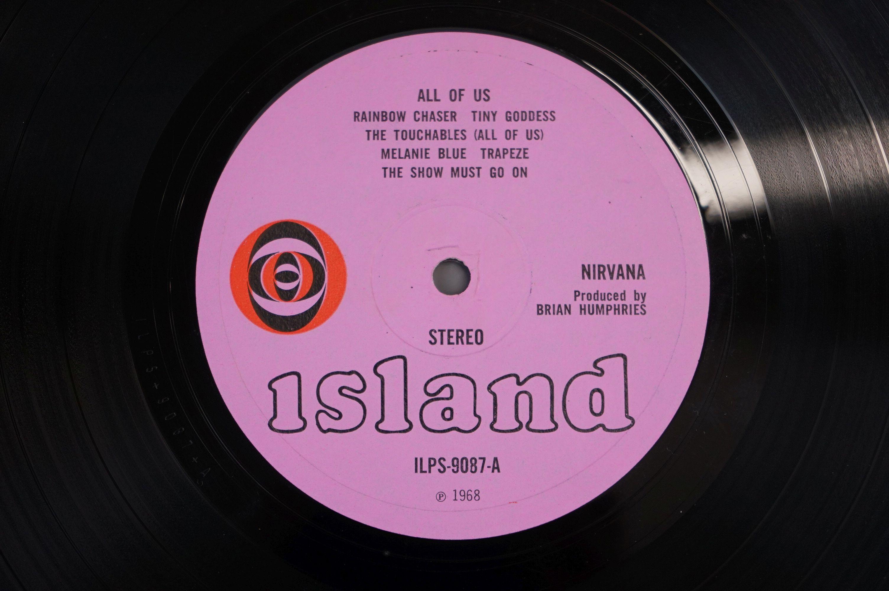 Vinyl - Nirvana All Of Us LP on Island ILPS 9087 with pink label, orange/black circle logo, - Image 4 of 6