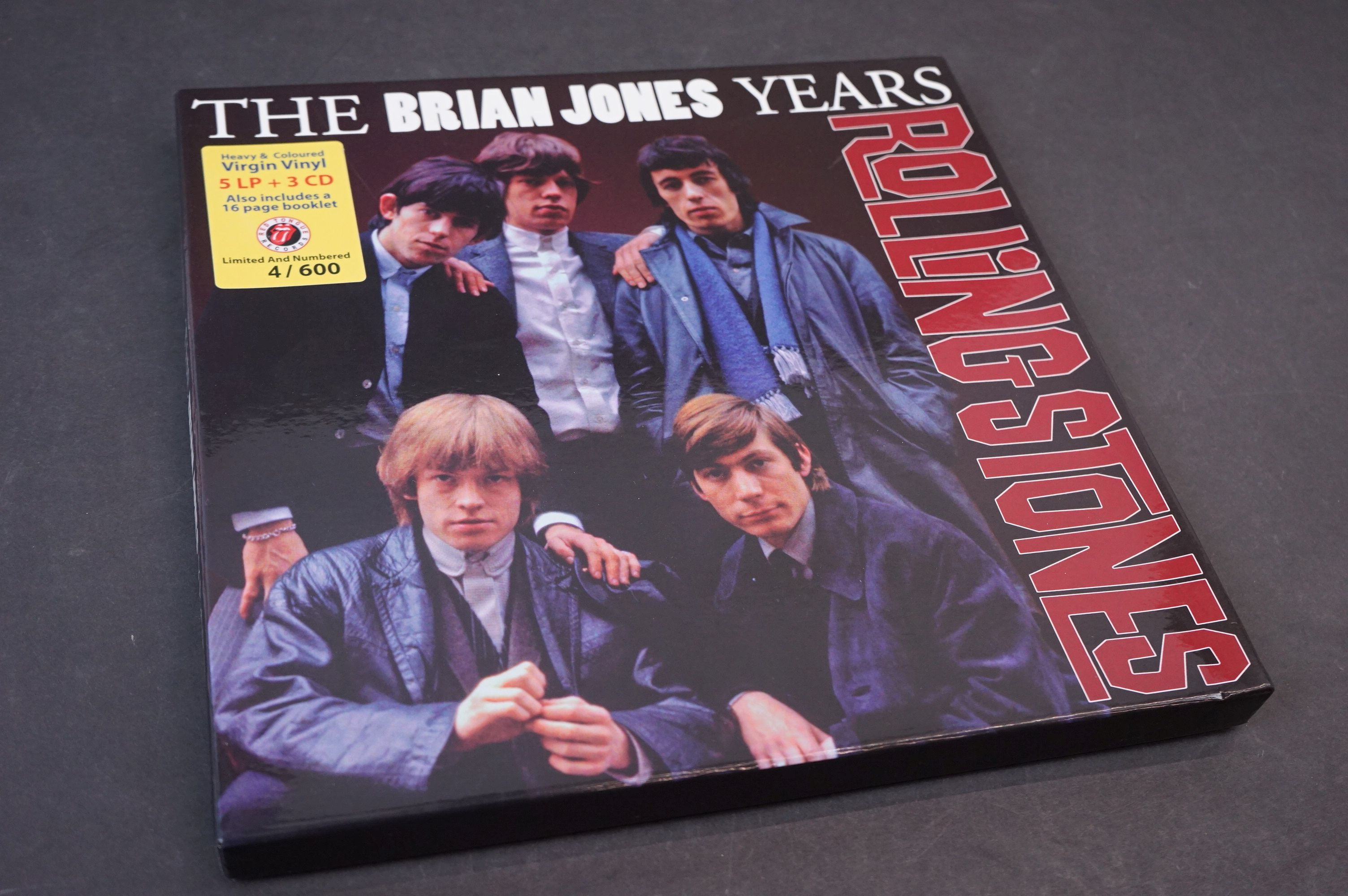 Vinyl - ltd edn The Rolling Stones The Brian Jones Years 5 LP / 3 CD Box Set RTR019, heavy - Image 11 of 12