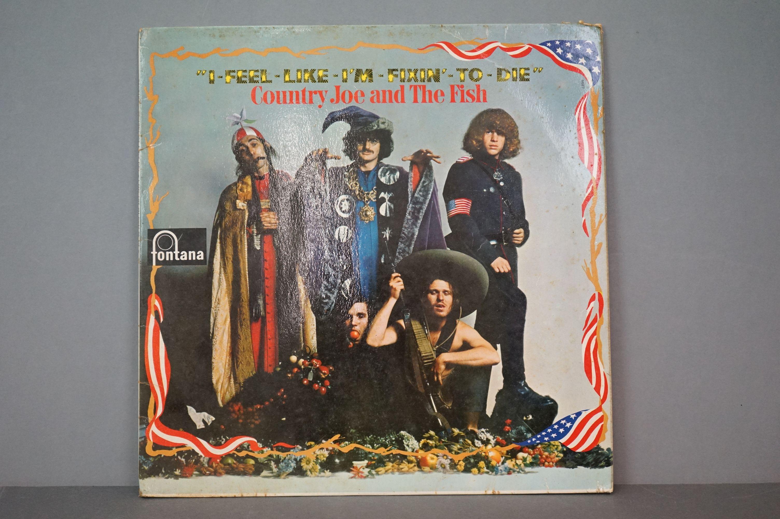 Vinyl - Country Joe and The Fish, I Feel Like I'm Fixin' To Die, Fontana STFL 6087, flip back