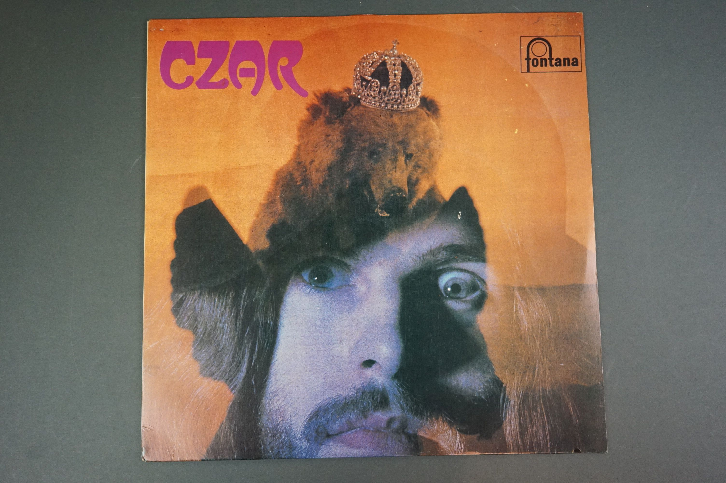 Vinyl - Czar self titled 6360009 unofficial release white album, with titles 33 and one third and