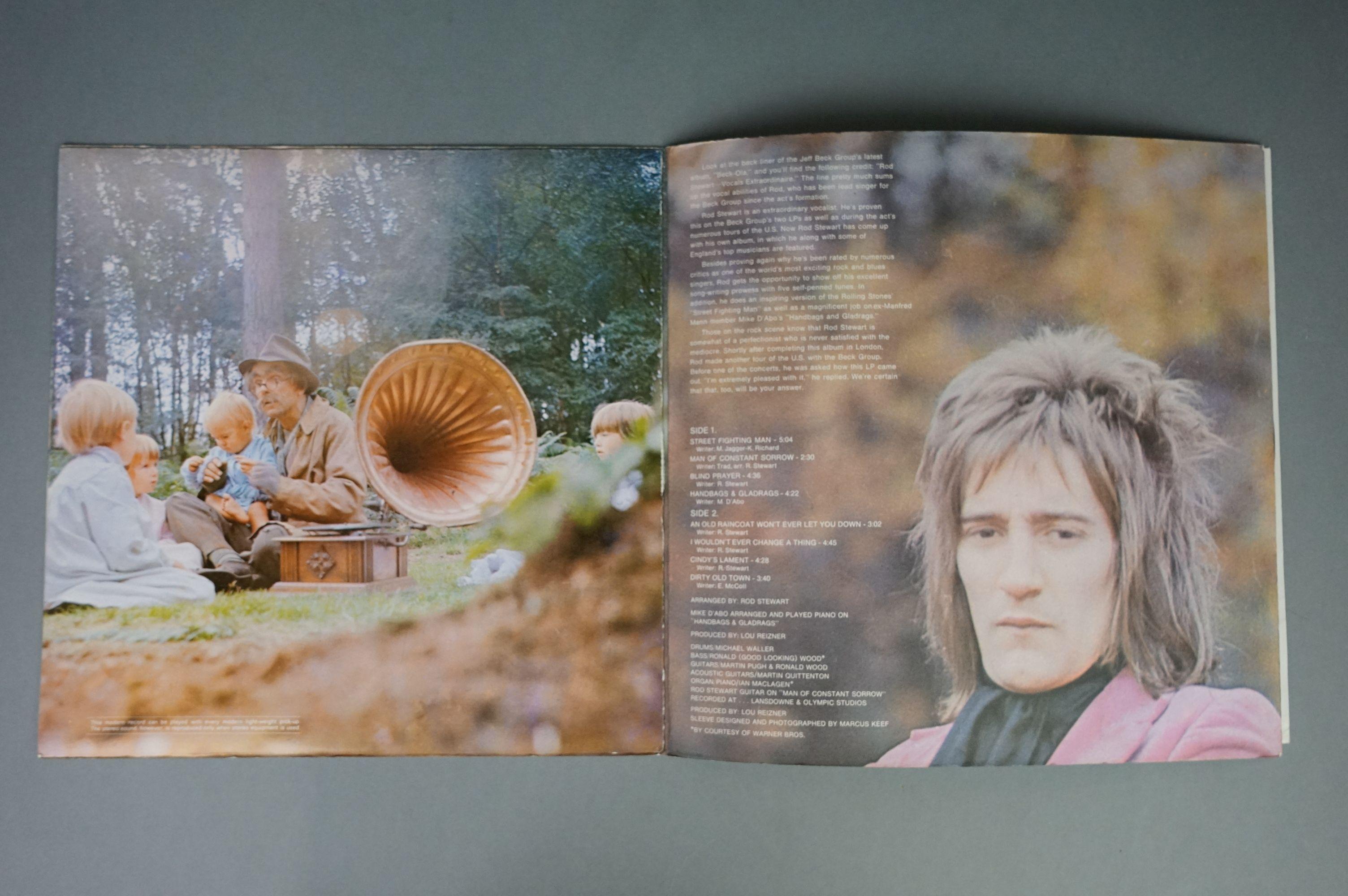 Vinyl - Rod Stewart 4 LP's to include An Old Raincoat Won't Ever Let You Down (Vertigo VO4) gatefold - Image 14 of 14