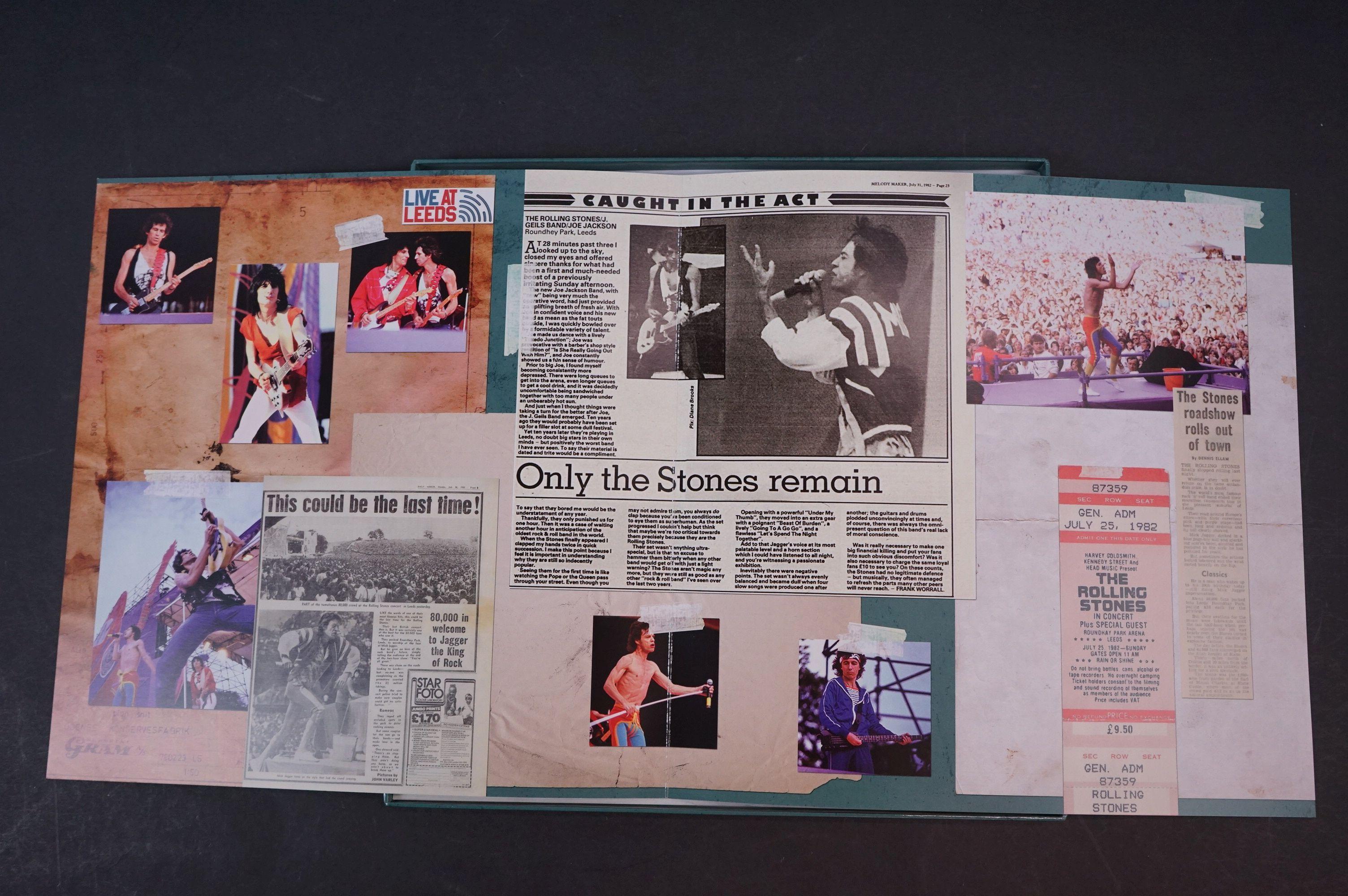Vinyl - ltd edn The Real Alternate Album Rolling Stones Leeds July 25 1982 3 LP / 2 CD Box Set RTR - Image 4 of 10
