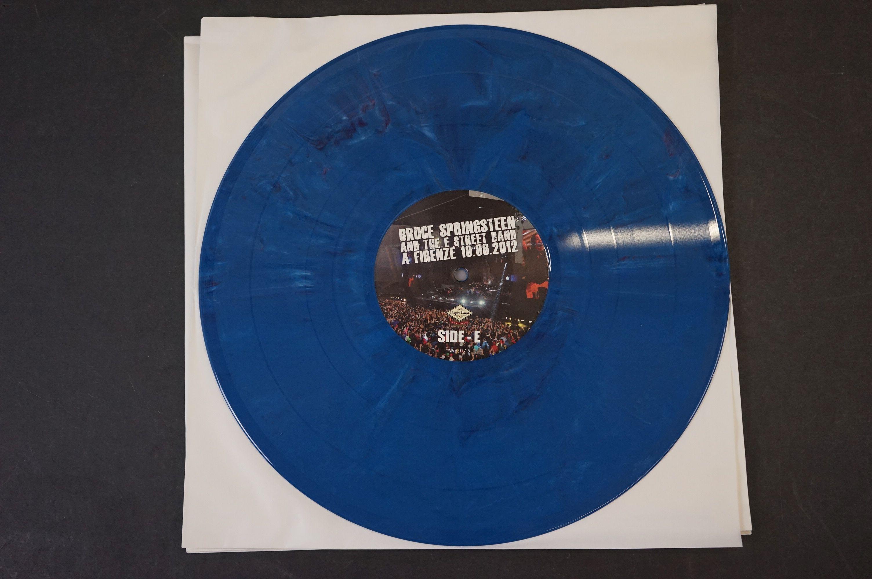 Vinyl - ltd edn Bruce Springsteen and The E Street Band A Firenze 10.06.2012 5 LP 3 CD 1 DVD heavy - Image 6 of 10