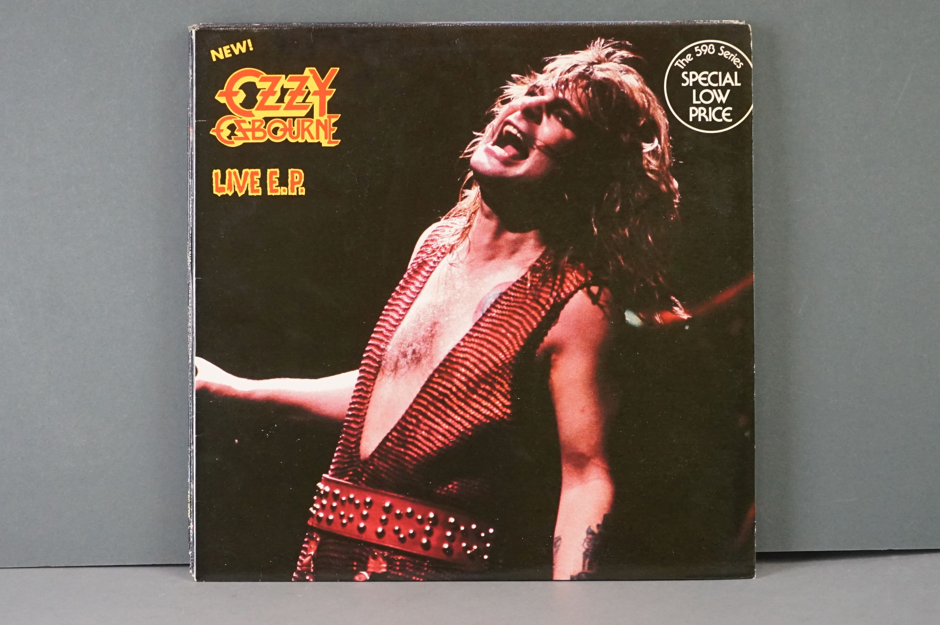 Vinyl - Six Ozzy Osbourne vinyl LP's to include The Ultimate Sin (Epic Records 26404), Live E.P. ( - Image 4 of 8