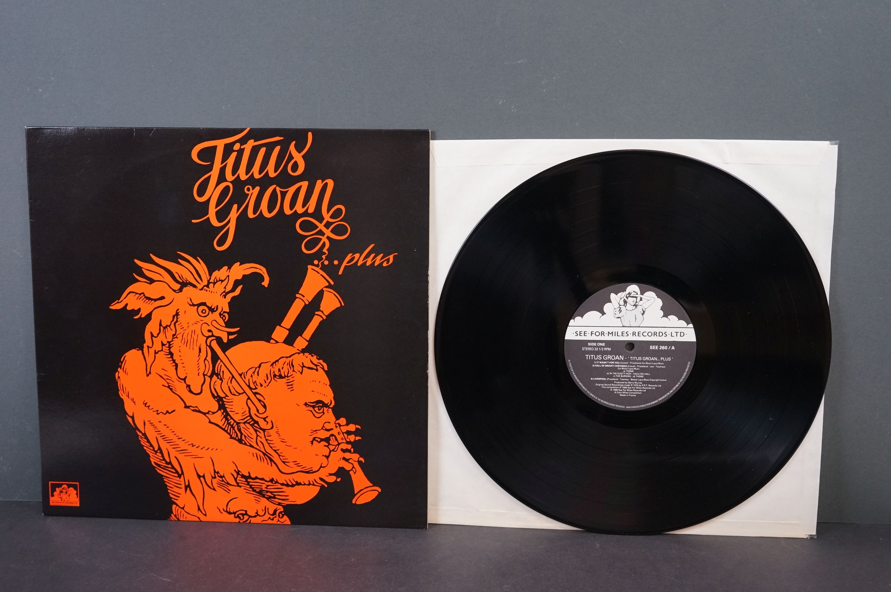 Vinyl - Psych / Prog - Five long deleted reissues of UK Psych / Prog Albums. Open Mind - Open - Image 4 of 12
