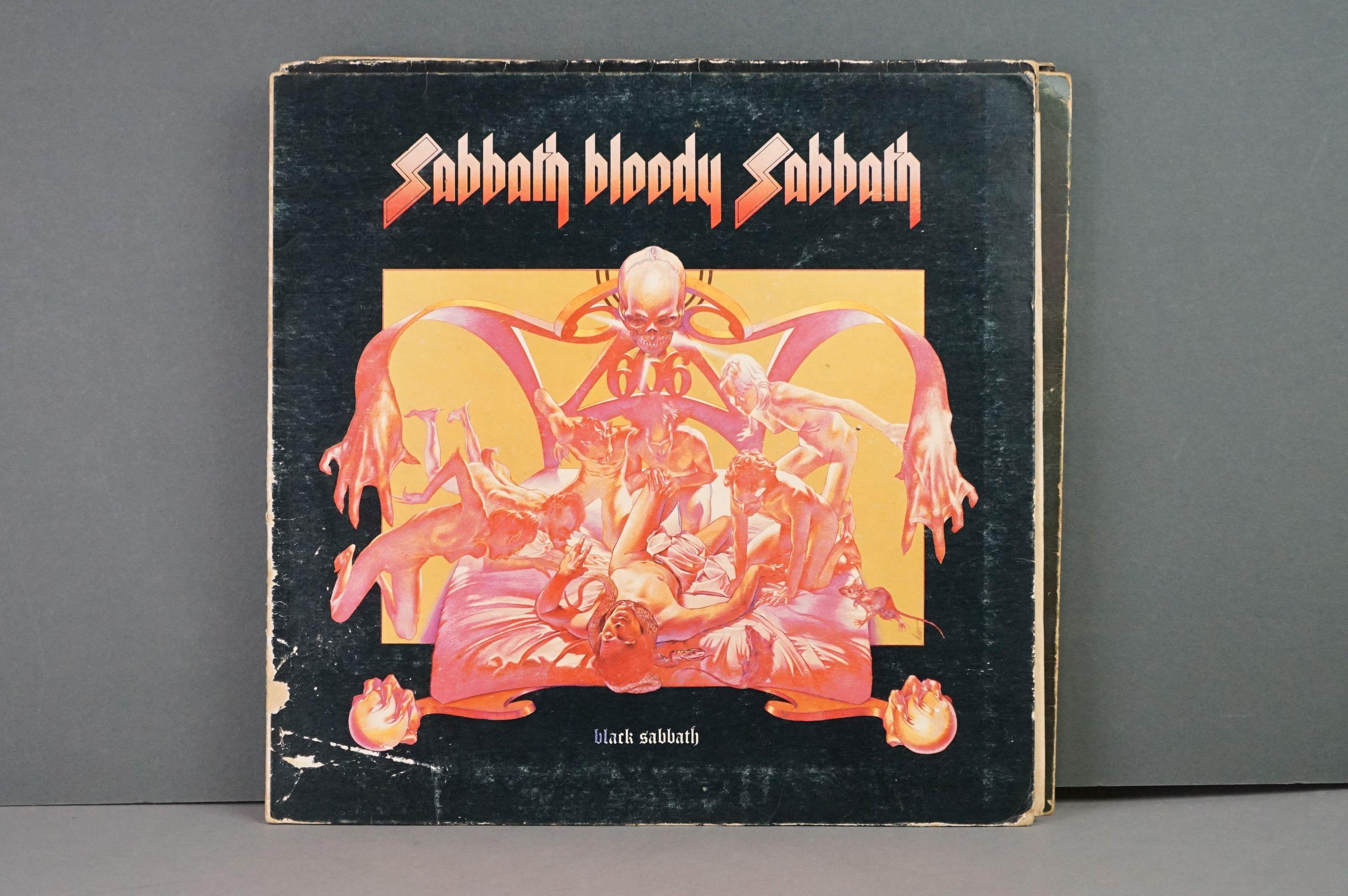 Vinyl - Twelve Black Sabbath vinyl LP's to include Technical Ecstasy (Vertigo Records PRICE 40), - Image 10 of 17