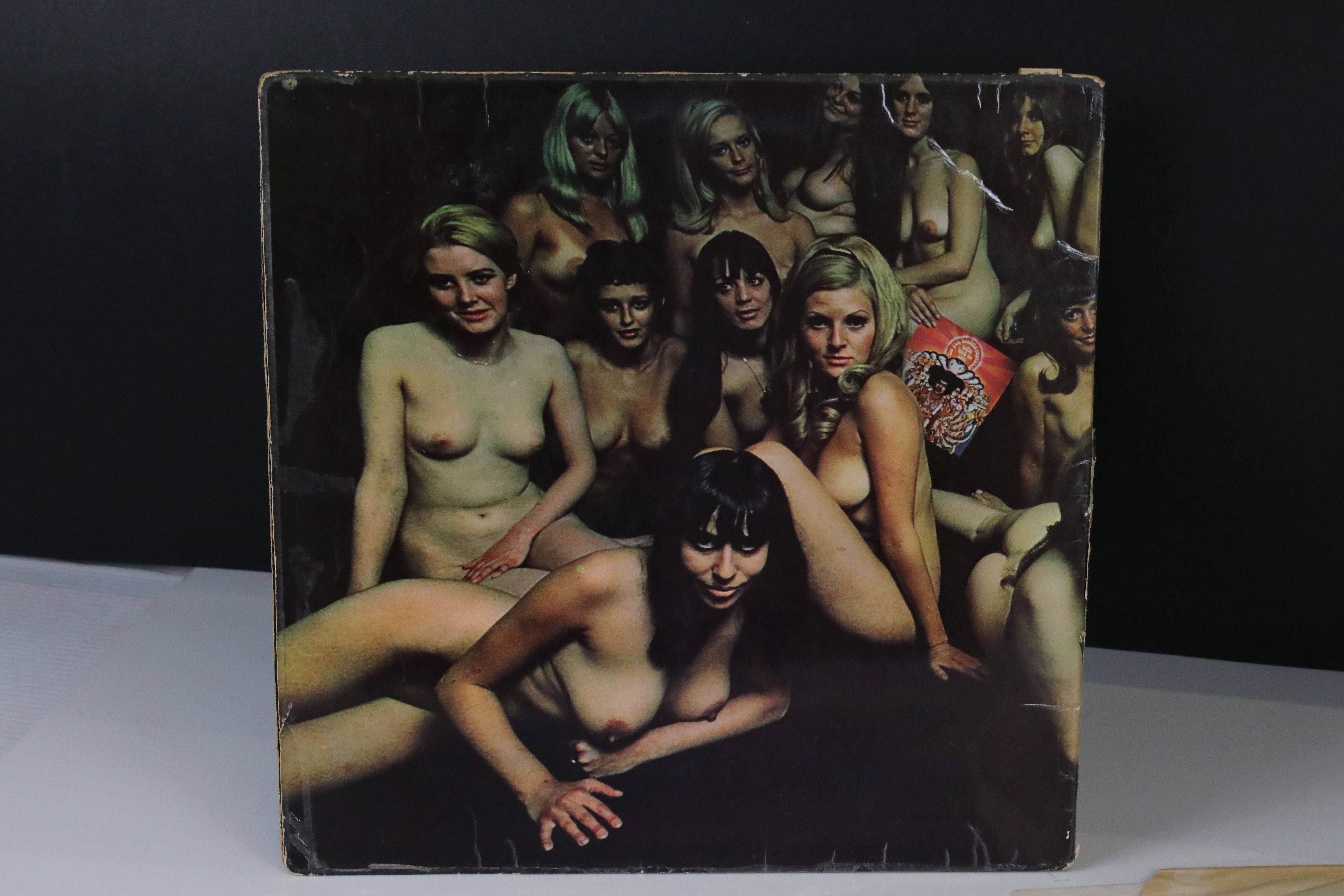 Vinyl - Jimi Hendrix Electric Ladyland LP on Track 613008/9 with inner with blue lettering with Jimi - Image 8 of 9