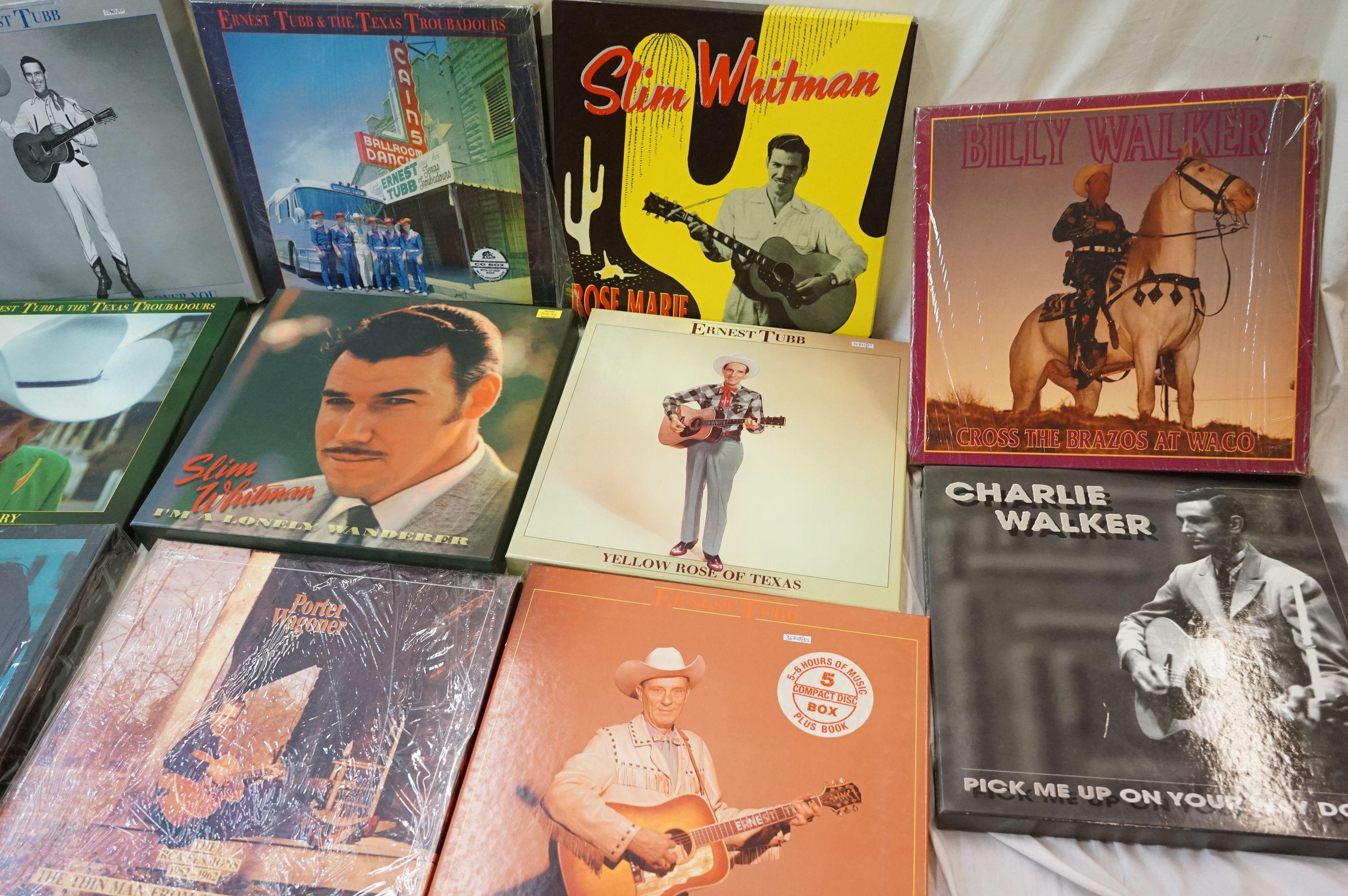 Vinyl - Around 130 LPs and 14 Box Sets to include Charlie Wiseman, Mac Wiseman, Slim Whitman etc ( - Image 4 of 5