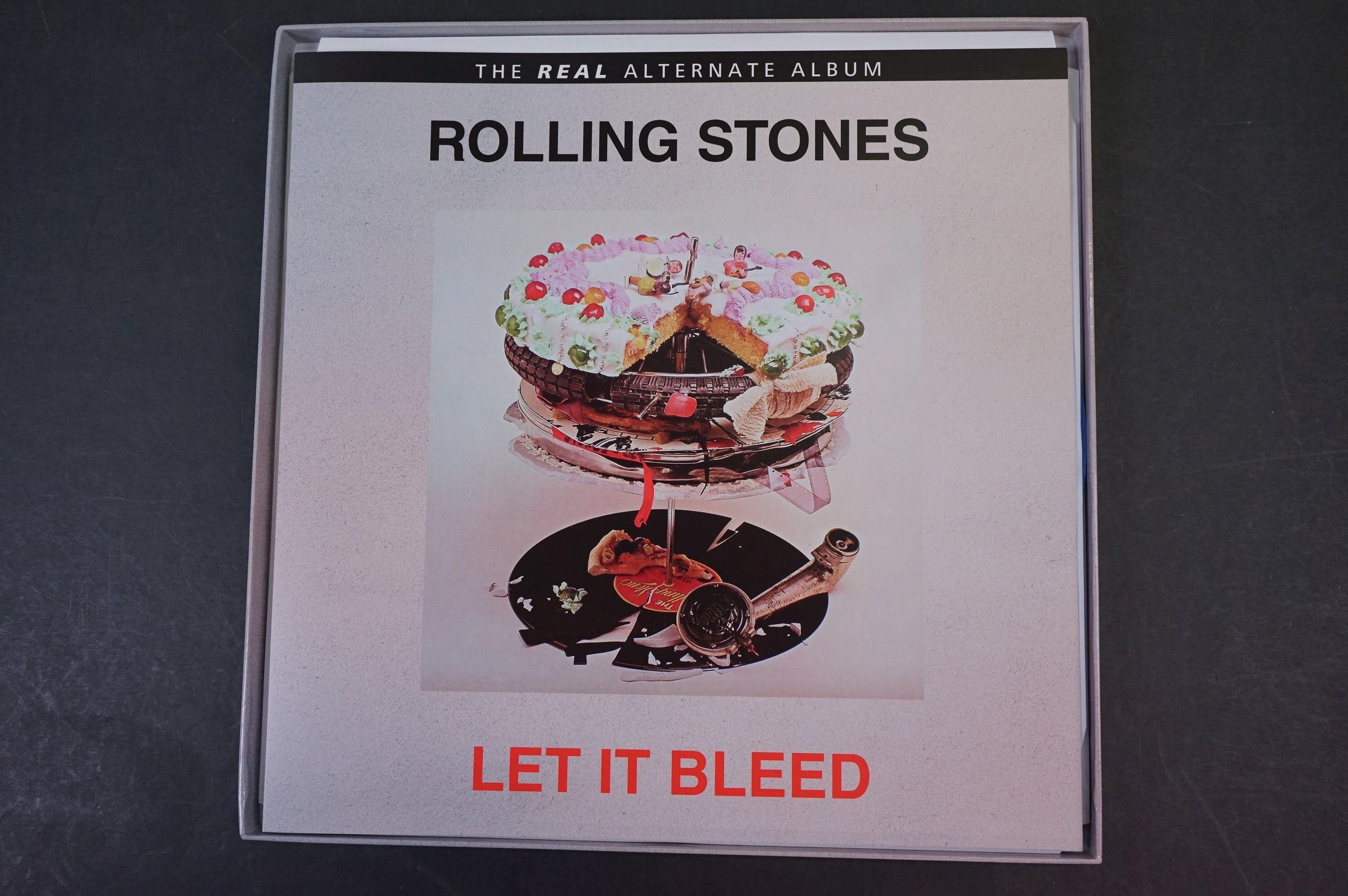 Vinyl - ltd edn The Real Alternate Album Rolling Stones Let It Bleed 3 LP / 2 CD Box Set RTR011, - Image 3 of 9