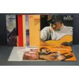 Vinyl - 10 Jose Feliciano LPs to include Memphis Menu, For My Love Mother Music, In Latin Mood