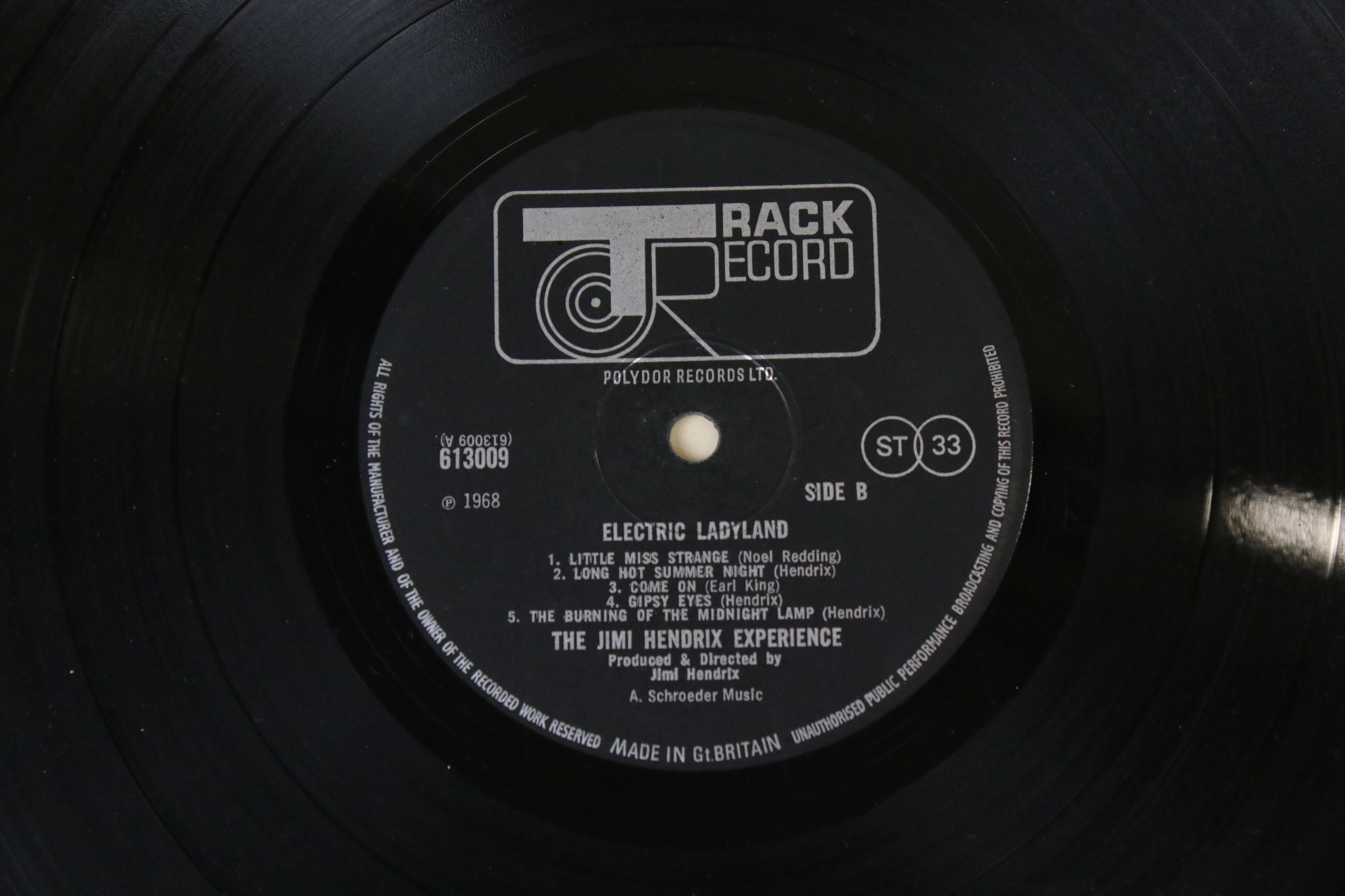 Vinyl - Jimi Hendrix Electric Ladyland LP on Track 613008/9 with inner with blue lettering with Jimi - Image 3 of 9