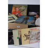"""Vinyl - Pop collection of approx 40 LP's and 100 7"""" singles to include Dire Straits, Paul Young, Cat"""