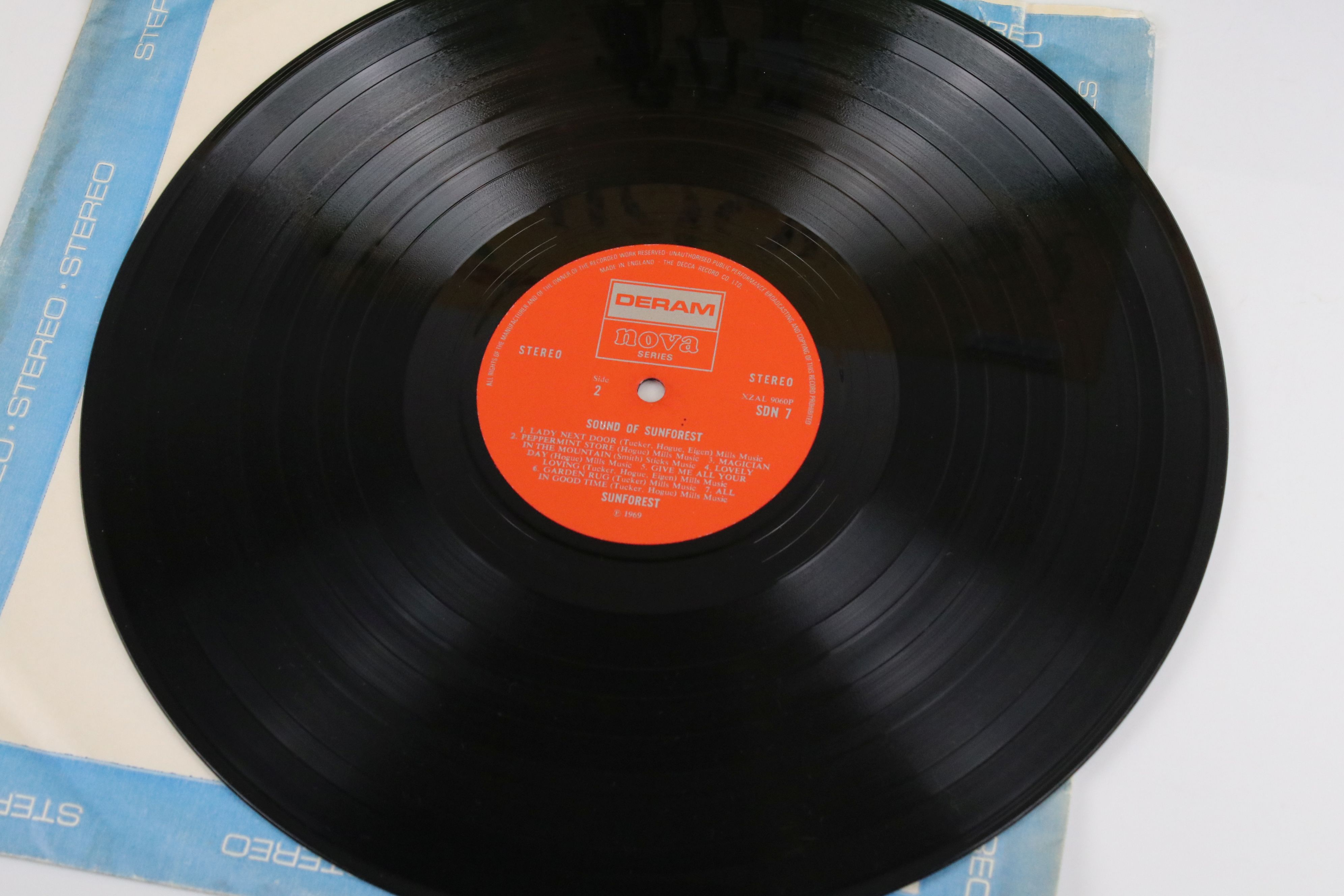 Vinyl - Sunforest Sound of Sunforest LP on Deram / Nova SDNT stereo, red and silver label, laminated - Image 2 of 6