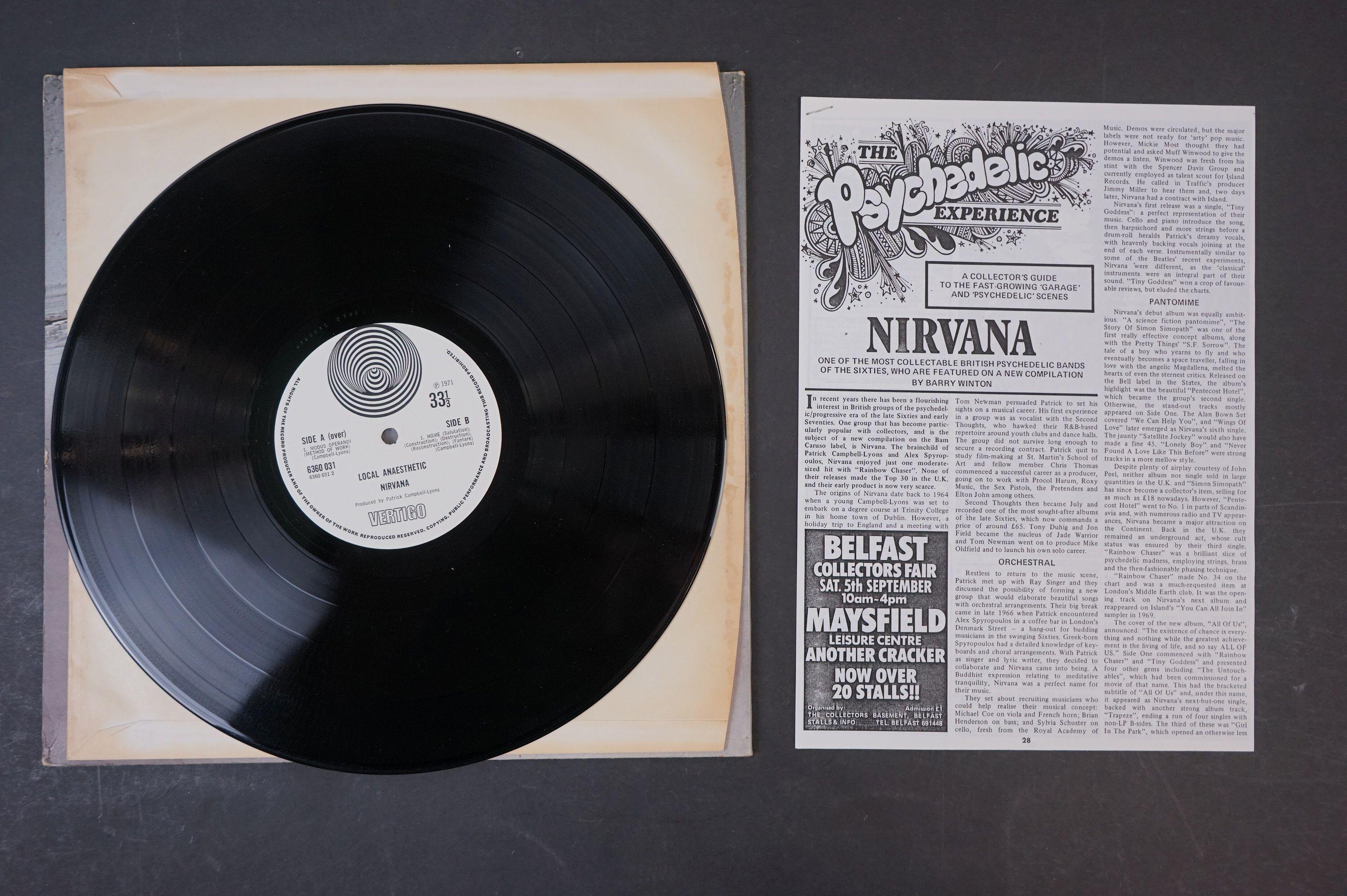 Vinyl - Nirvana Local Anaesthetic LP on Vertigo VO 6360031 gatefold sleeve, swirl logo, swirl - Image 5 of 8