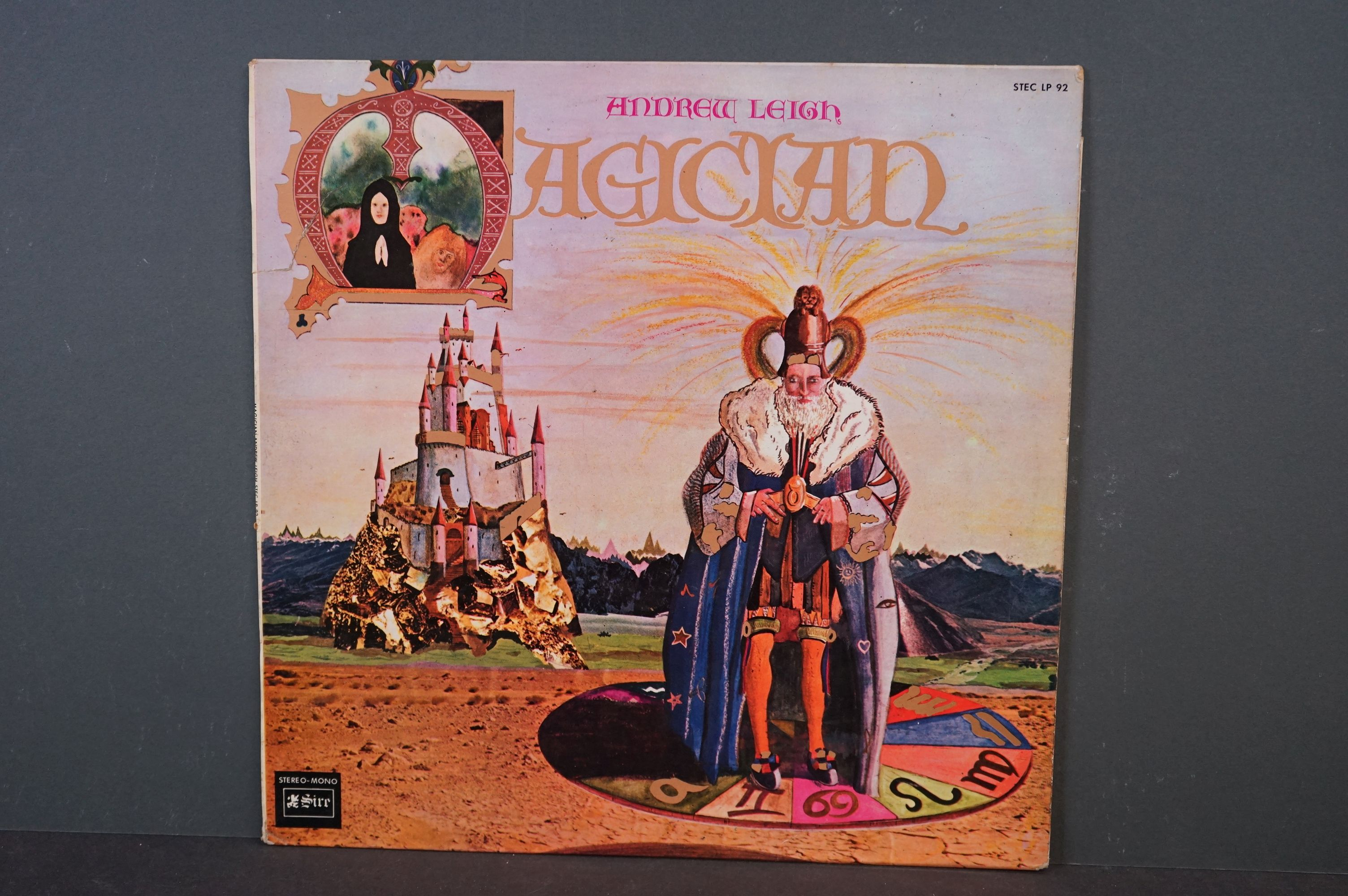 Vinyl - Psych / Acid Folk - Andrew Leigh - Magician. 1970 French 1st Pressing, Sire Records,