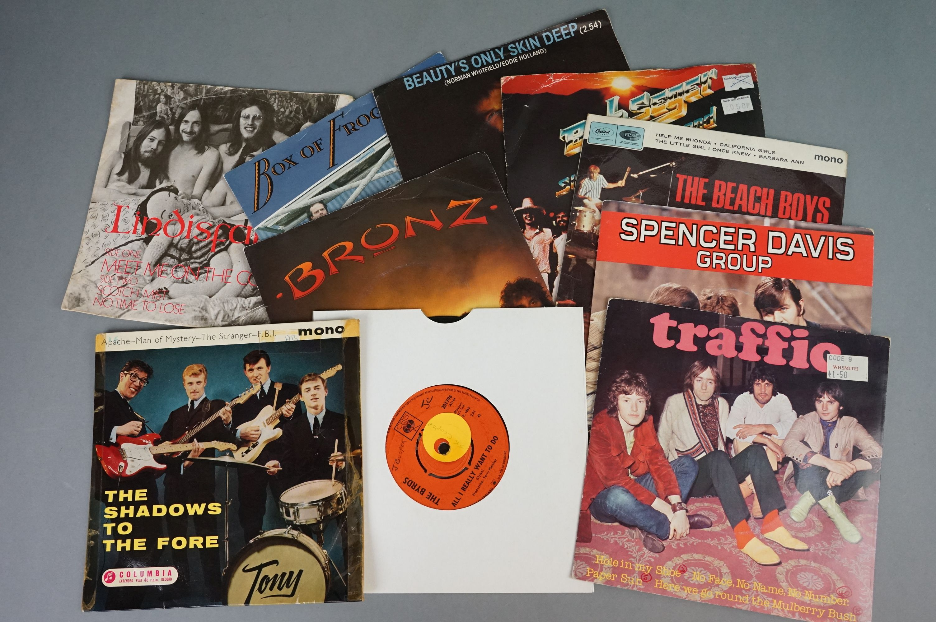 """Vinyl - 100+ 7"""" singles/EPs, mostly 1960s/1970s rock & pop, to include Rolling Stones, Beatles, Who, - Image 2 of 4"""