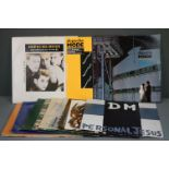 """Vinyl - Depeche Mode - 12 LPs and 2 x 12"""" singles to include Some Great Reward, The Singles 81-85,"""