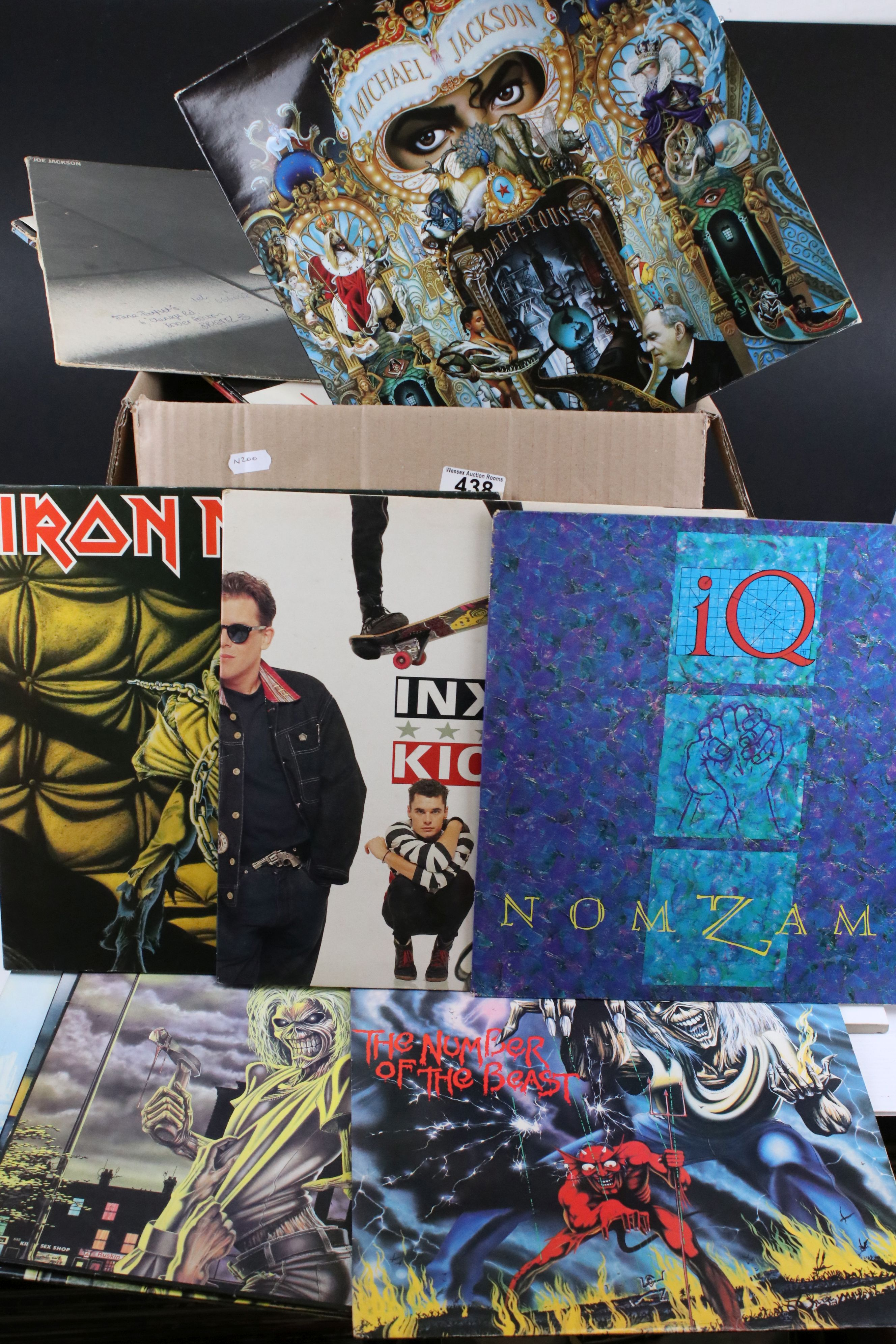 Vinyl - Approx 50 vinyl LP's spanning the decades and the genres to include Iron Maiden, ELO,