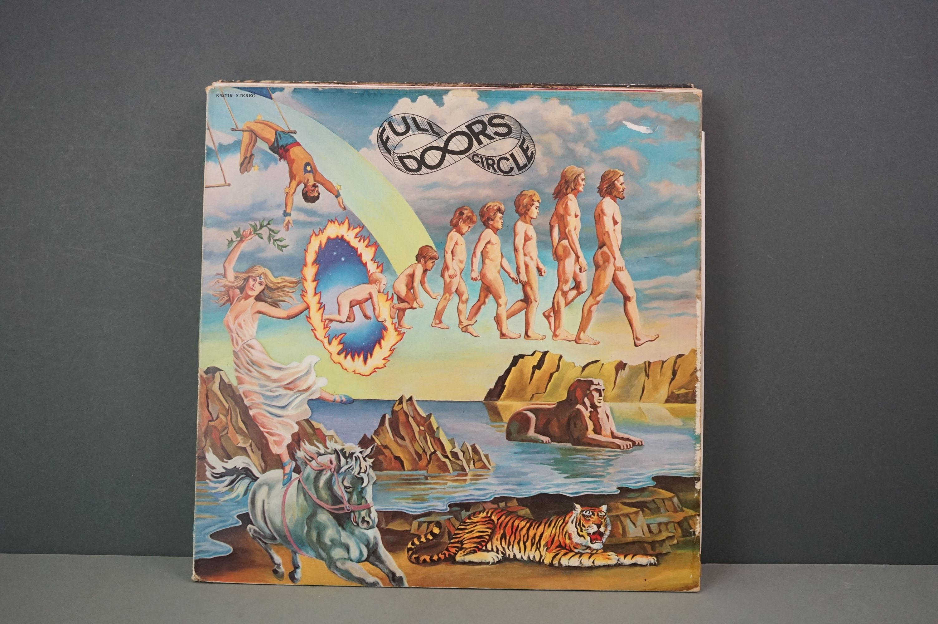 Vinyl - Sixteen The Doors vinyl LP's to include Waiting For The Sun (Elektra Records EKS 74024), The - Image 9 of 17