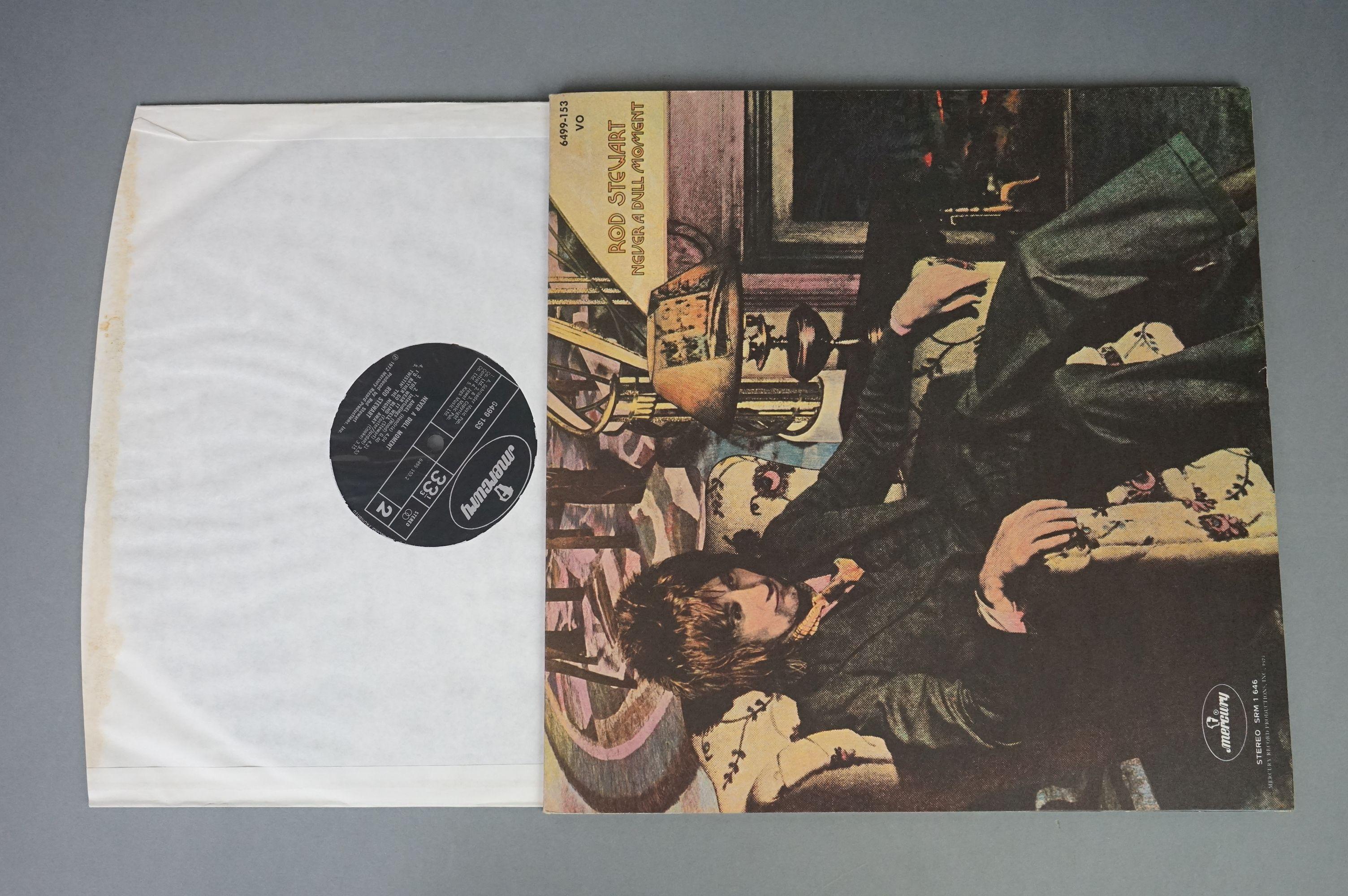 Vinyl - Rod Stewart 4 LP's to include An Old Raincoat Won't Ever Let You Down (Vertigo VO4) gatefold - Image 2 of 14