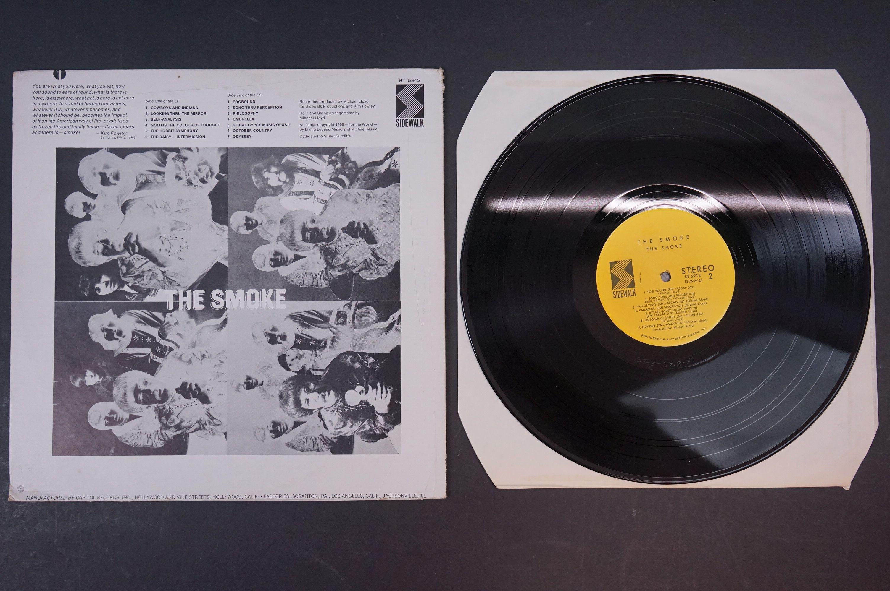 Vinyl - Psych - The Smoke - The Smoke (1968 US, Sidewalk Records) vg+/ex - Image 3 of 3