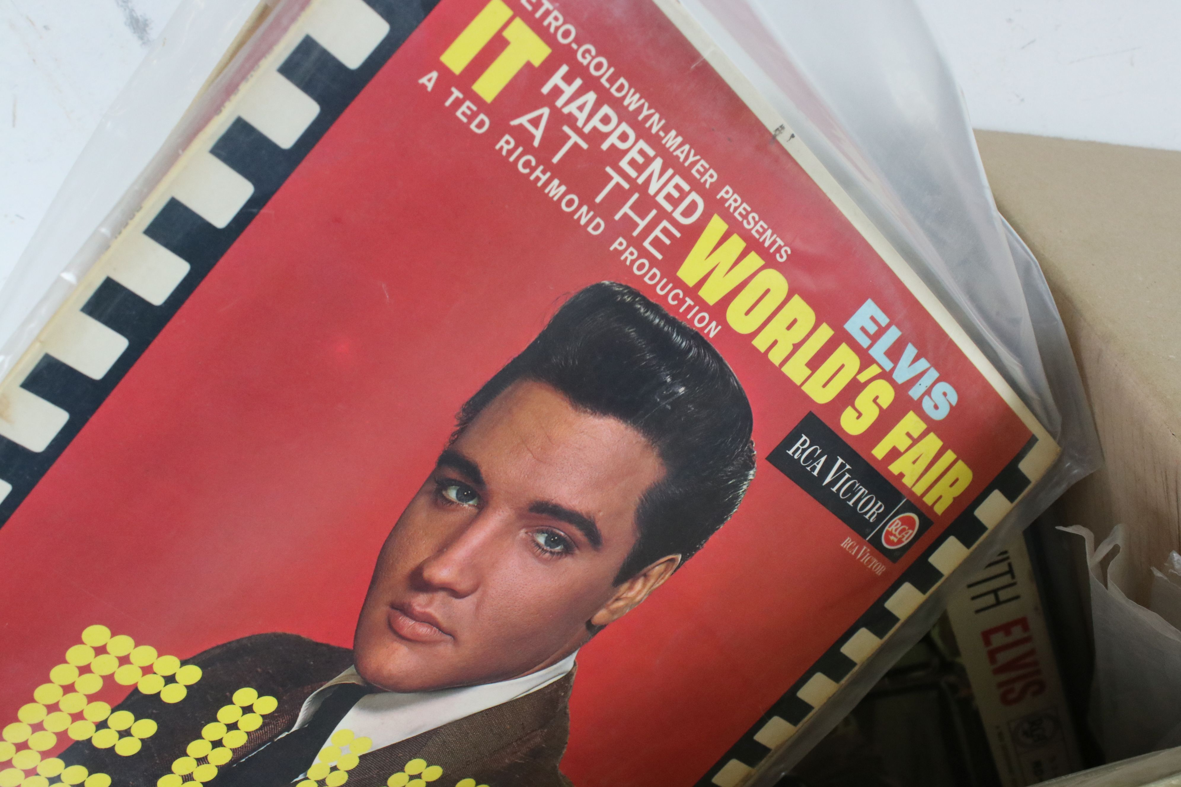 Vinyl - Collection of approx 50 Elvis LP's spanning his career. Condition varies but overall VG+ - Image 5 of 7