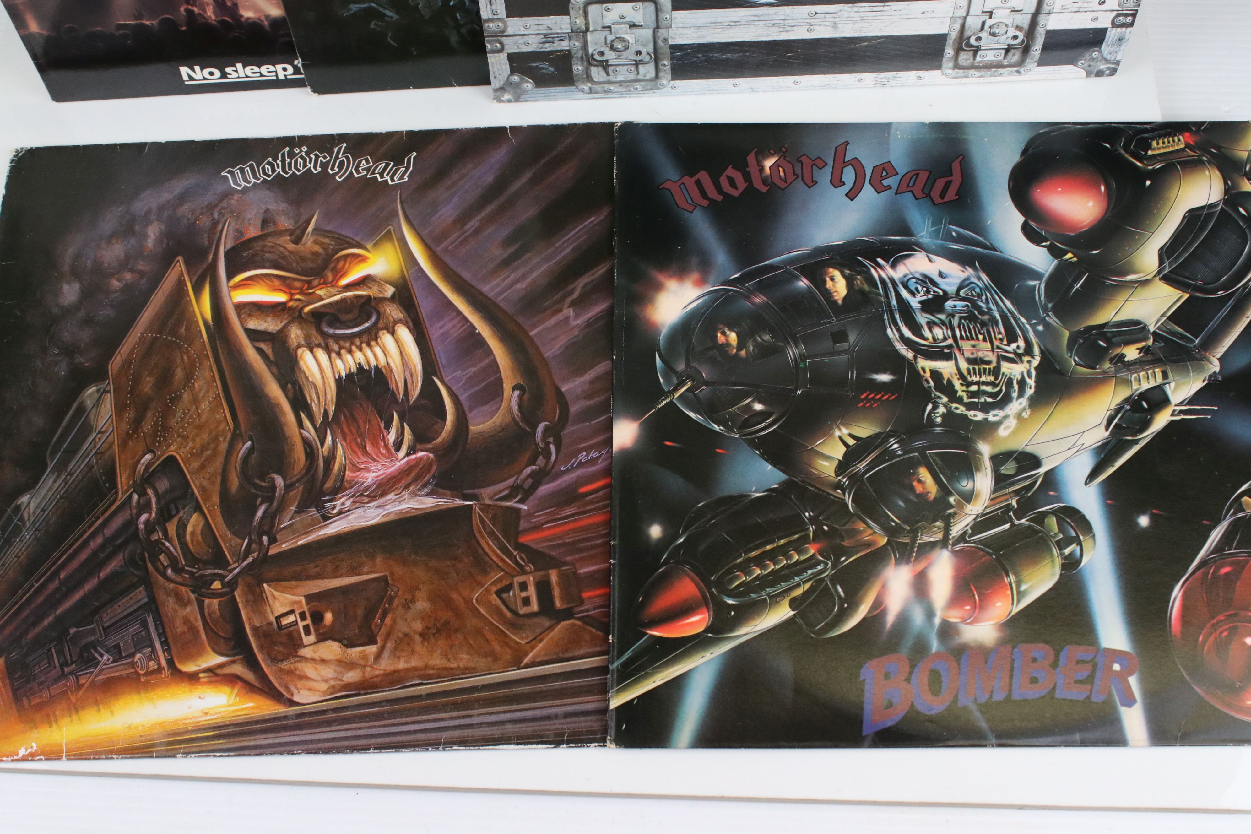 Vinyl - Motorhead 7 LP's to include Self Titled (WLK 2), No Sleep At All (GWLP31), Rock N Roll ( - Image 3 of 5