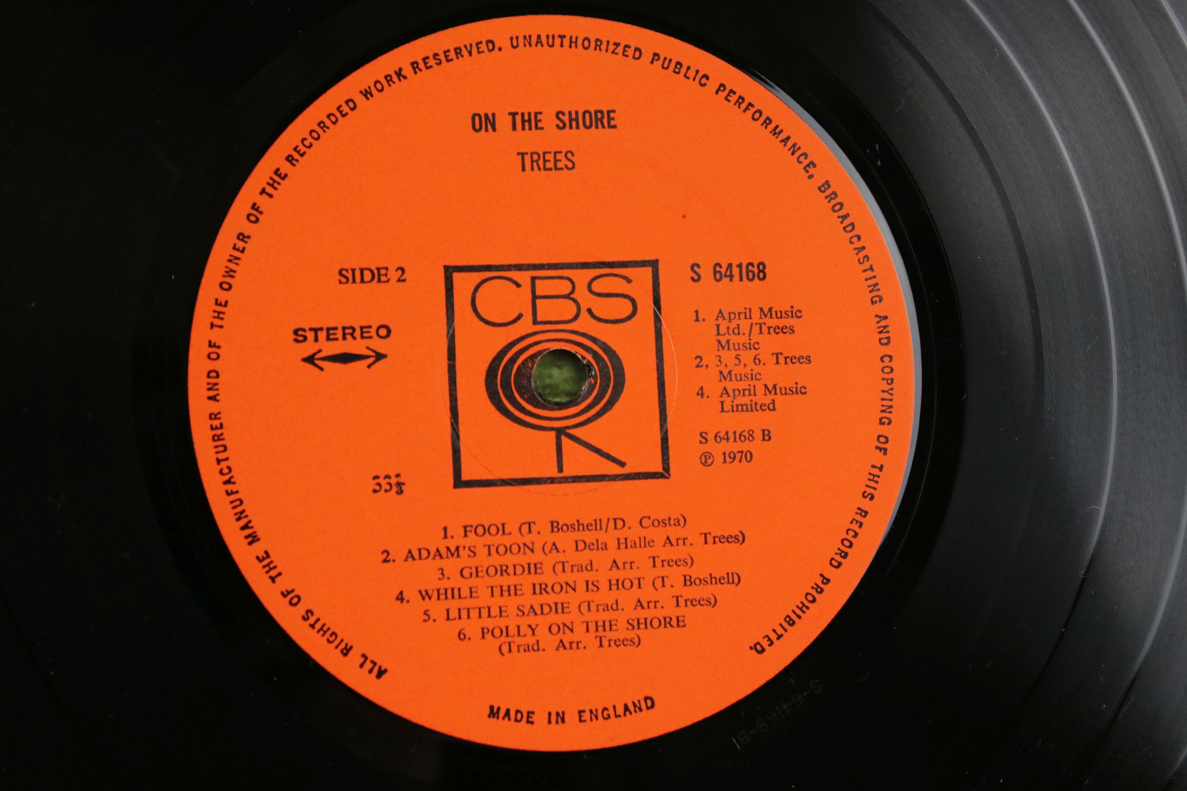 Vinyl - Trees On The Shore LP on CBS 64168 Stereo, vg+ - Image 4 of 4