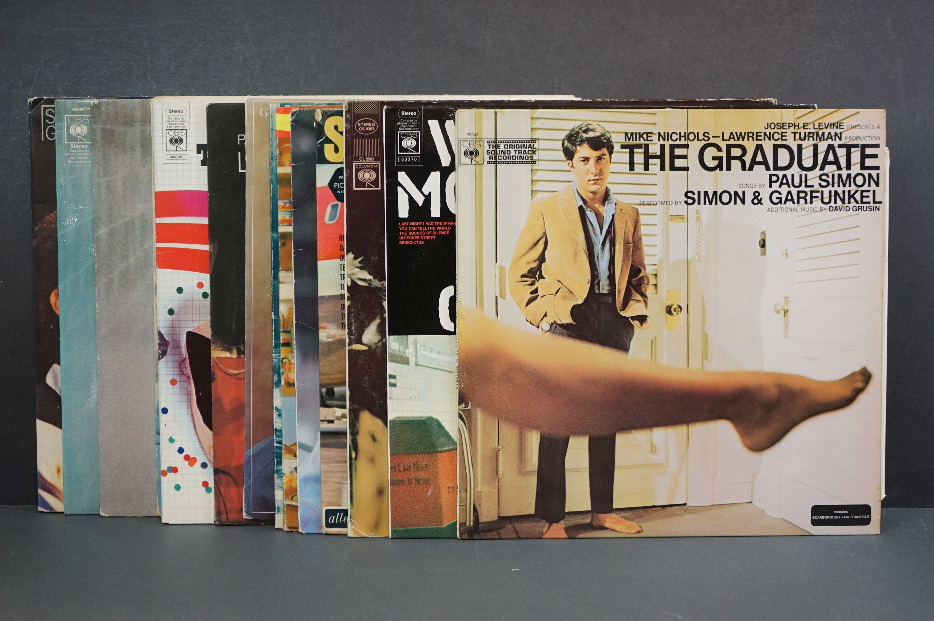Vinyl - Around 15 Simon & Garfunkel and solo LPs to include Still Crazy After All These Years,