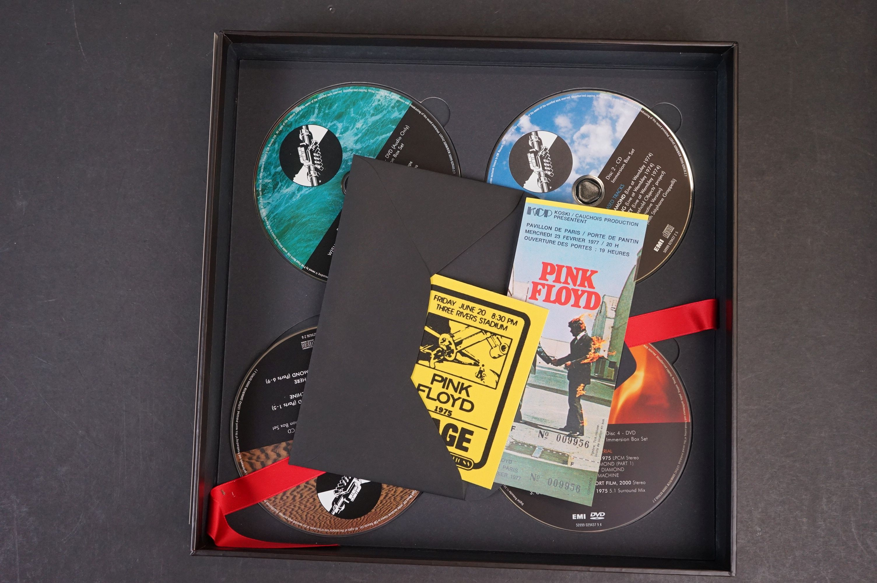 CD / DVD / Bluray - Pink Floyd Wish You Were Here 5 disc box set ex - Image 9 of 13