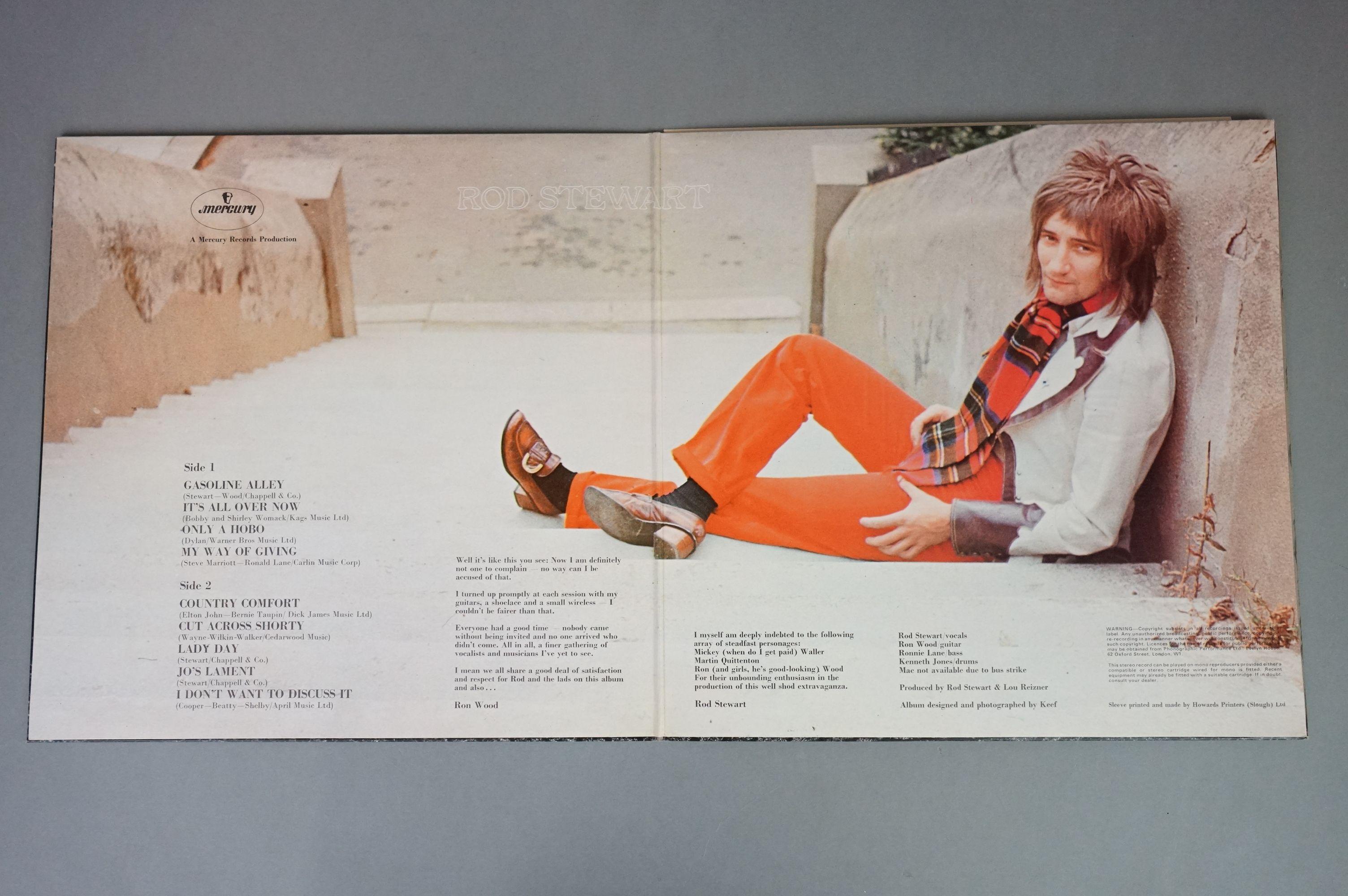 Vinyl - Rod Stewart 4 LP's to include An Old Raincoat Won't Ever Let You Down (Vertigo VO4) gatefold - Image 11 of 14
