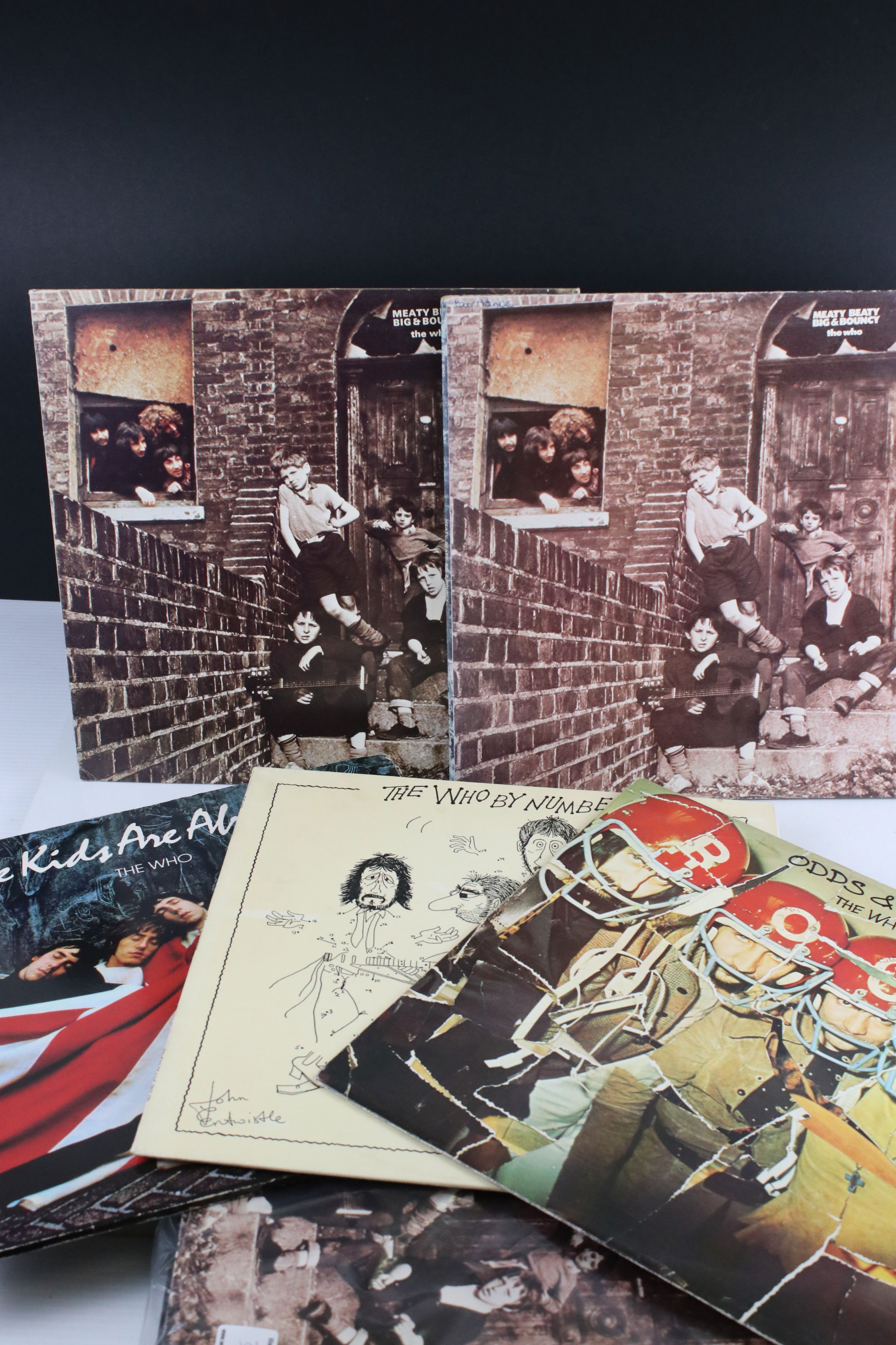 Vinyl - Nine The Who LPs to include Odds & Sods, By Numbers, The Kids Are Alright, 3 x Meaty Beaty - Image 3 of 3