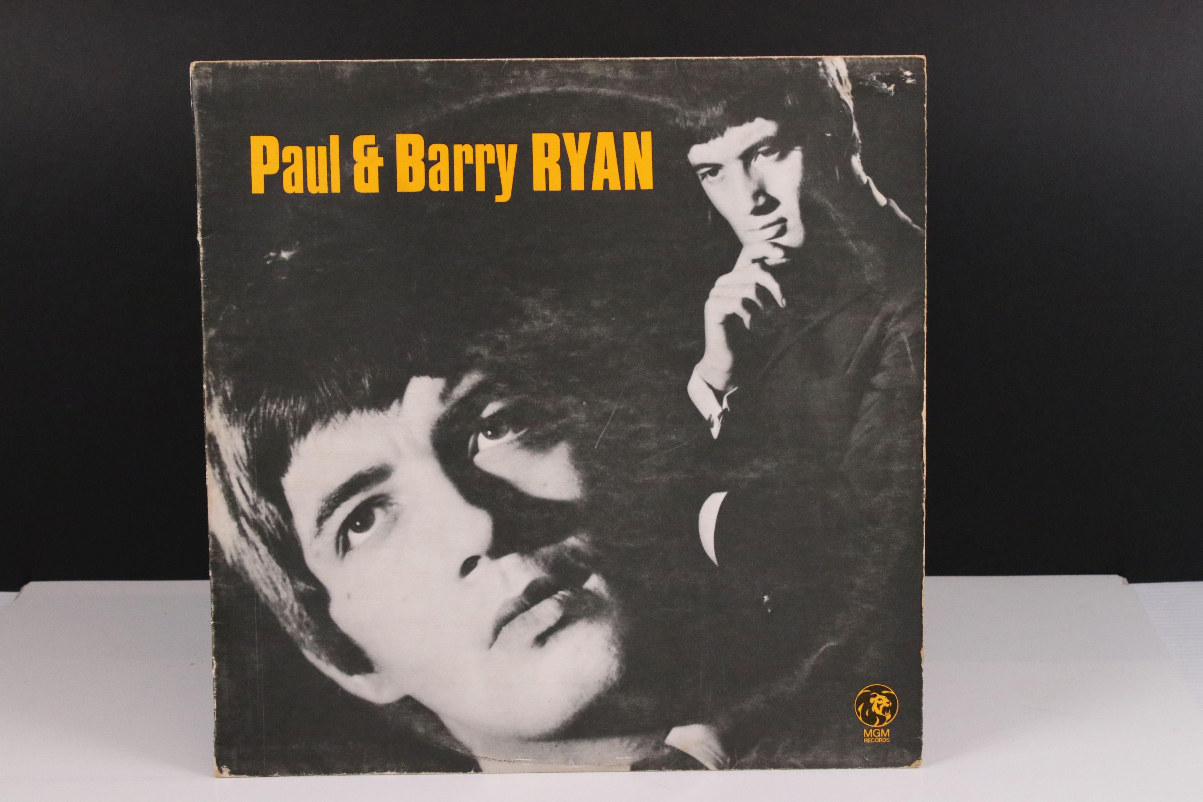 Vinyl - MOD/BEAT Paul & Barry Ryan self titled LP on MGM C 8081, mono non laminated, flip back