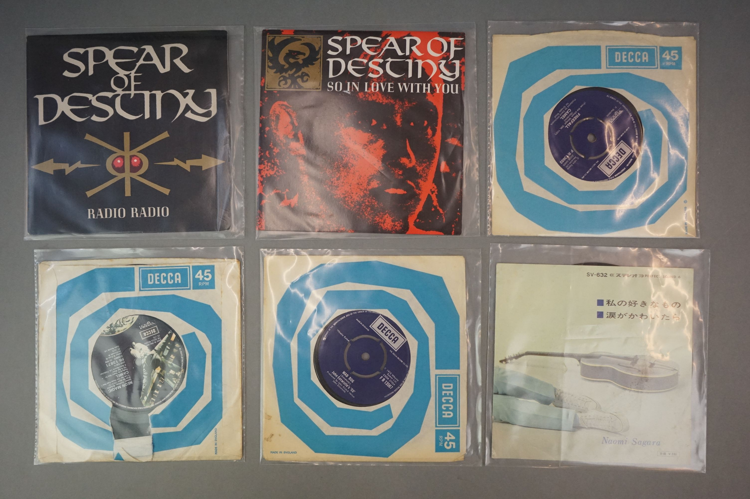 """Vinyl - Collection of approx 20 7"""" singles spanning genres and decades including 90's examples - Image 3 of 6"""