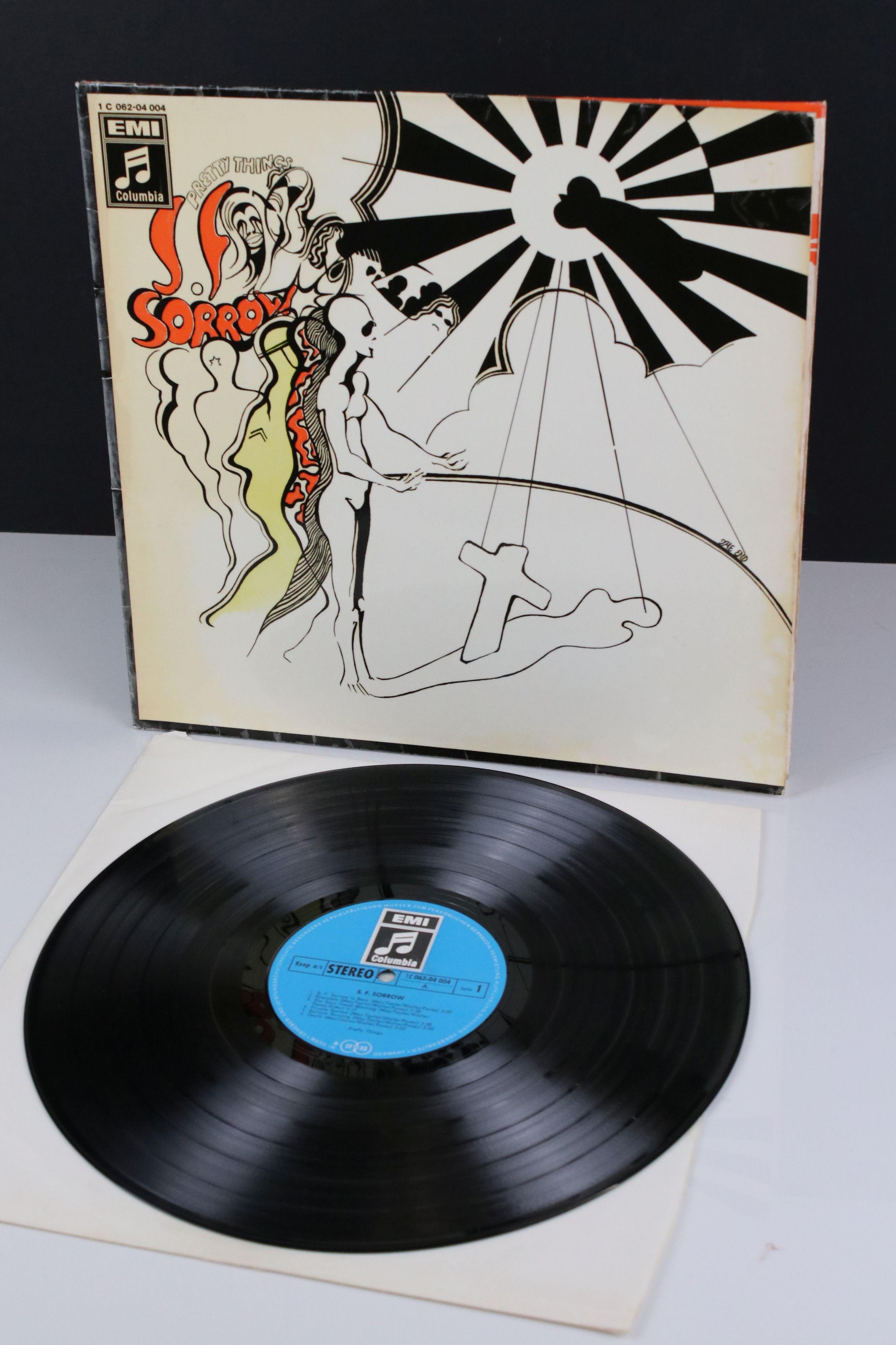 Vinyl - Pretty Things SF Sorrow LP on Columbia IC06204004 German pressing, gatefold sleeve, sleeve