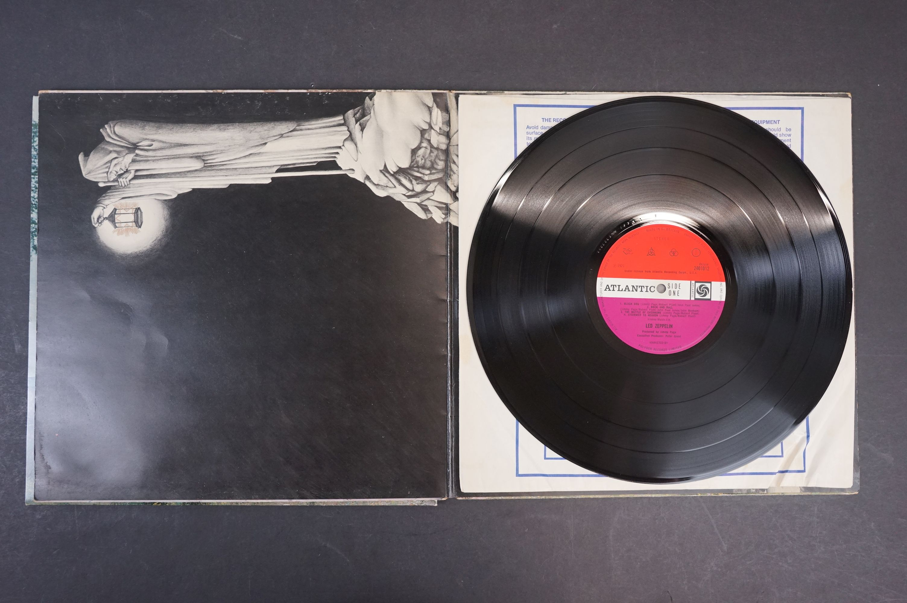Vinyl - Six Led Zeppelin LPs to include In Through the Outdoor (cover D) SSK59410, Coda 790051, 2 - Image 12 of 17