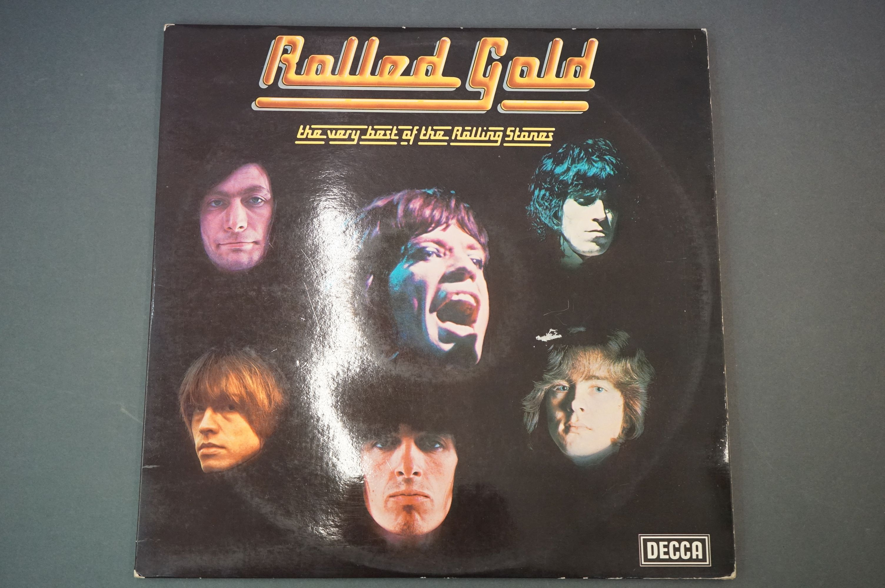 Vinyl - Rolling Stones 3 LP's to include Rolled Gold and Self Titled (both Dutch pressings), and - Image 2 of 10